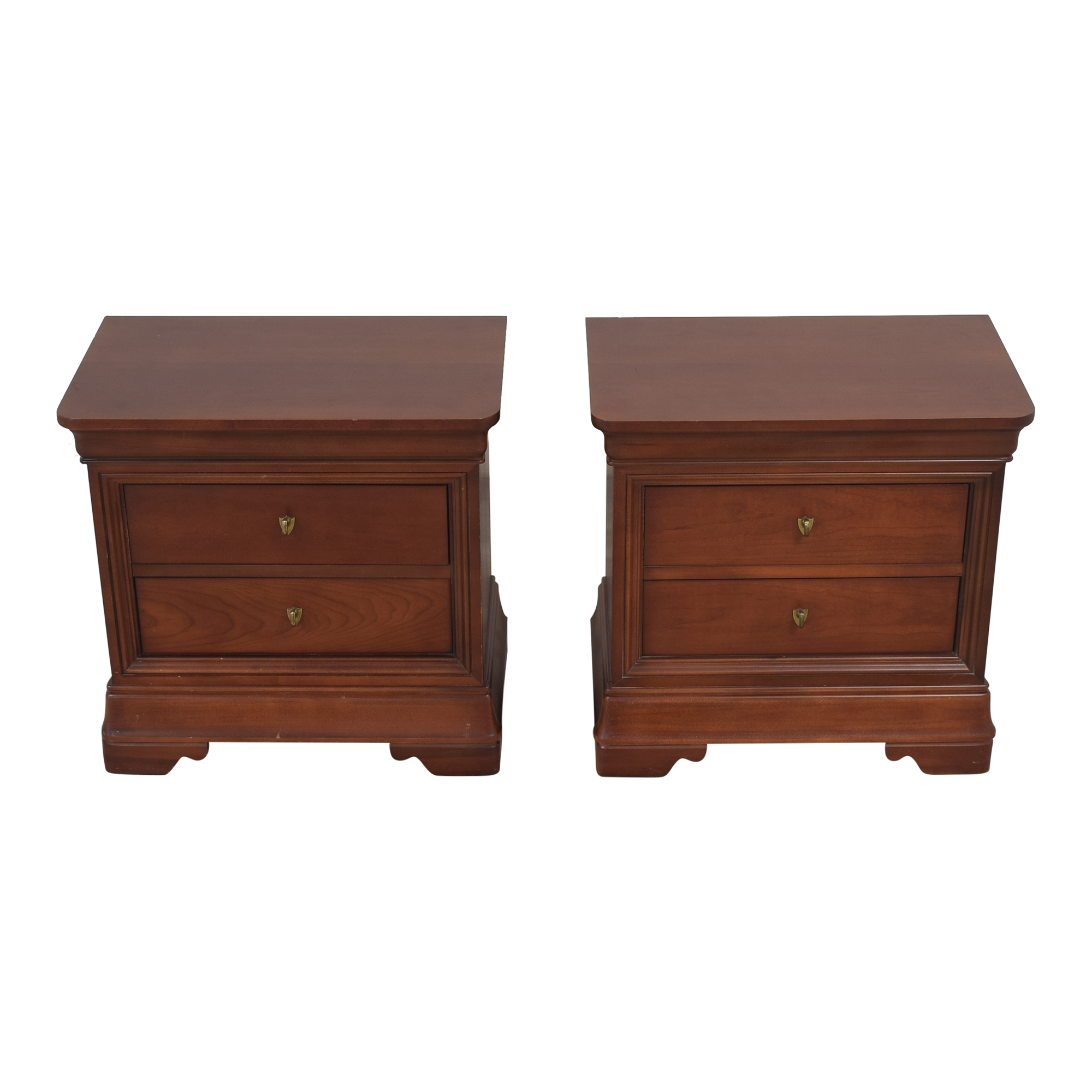 buy Thomasville Impressions Two Drawer Nightstands Thomasville