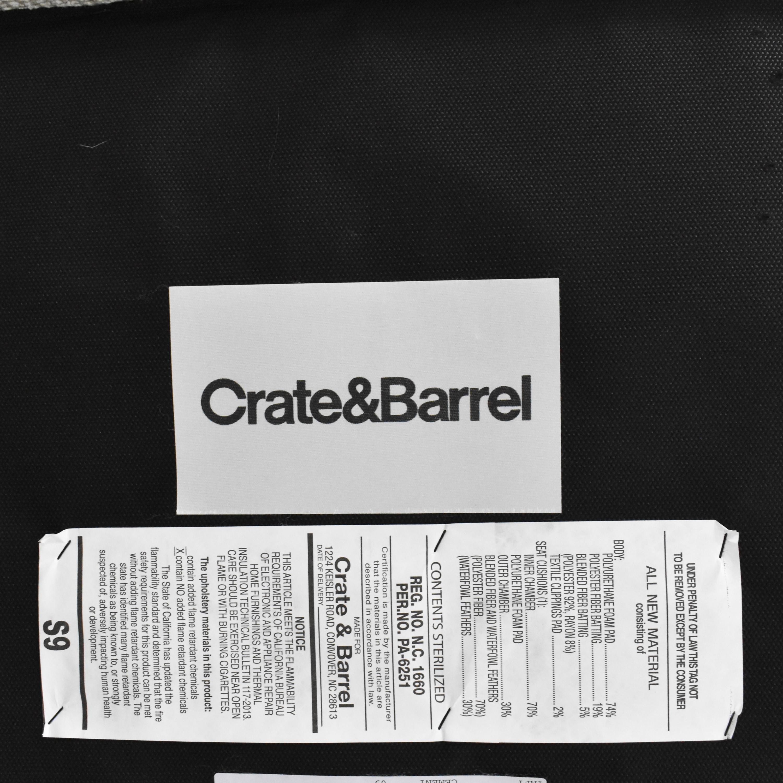 Crate & Barrel Crate & Barrel Storage Ottoman coupon