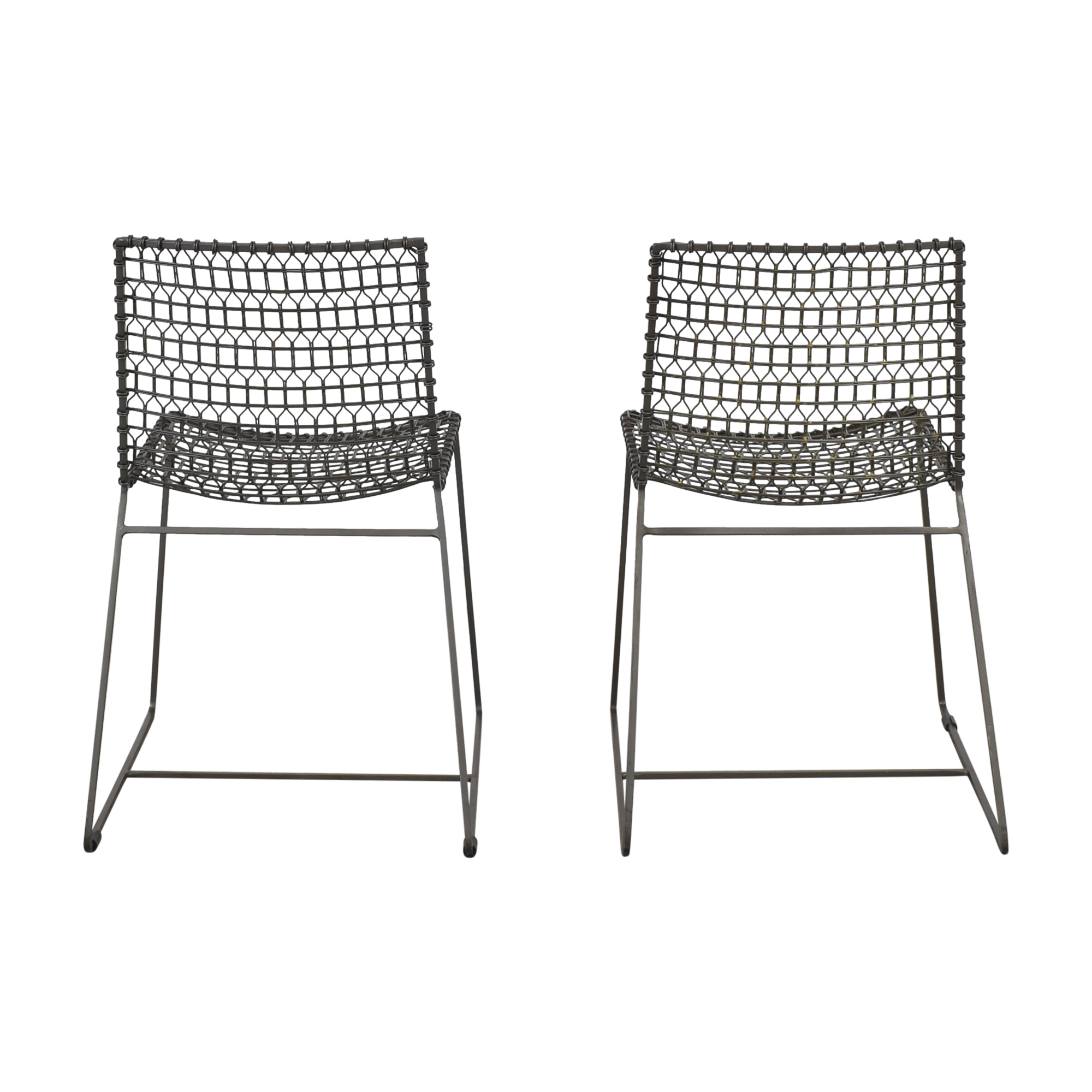 Crate & Barrel Crate & Barrel Tig Dining Chairs nyc