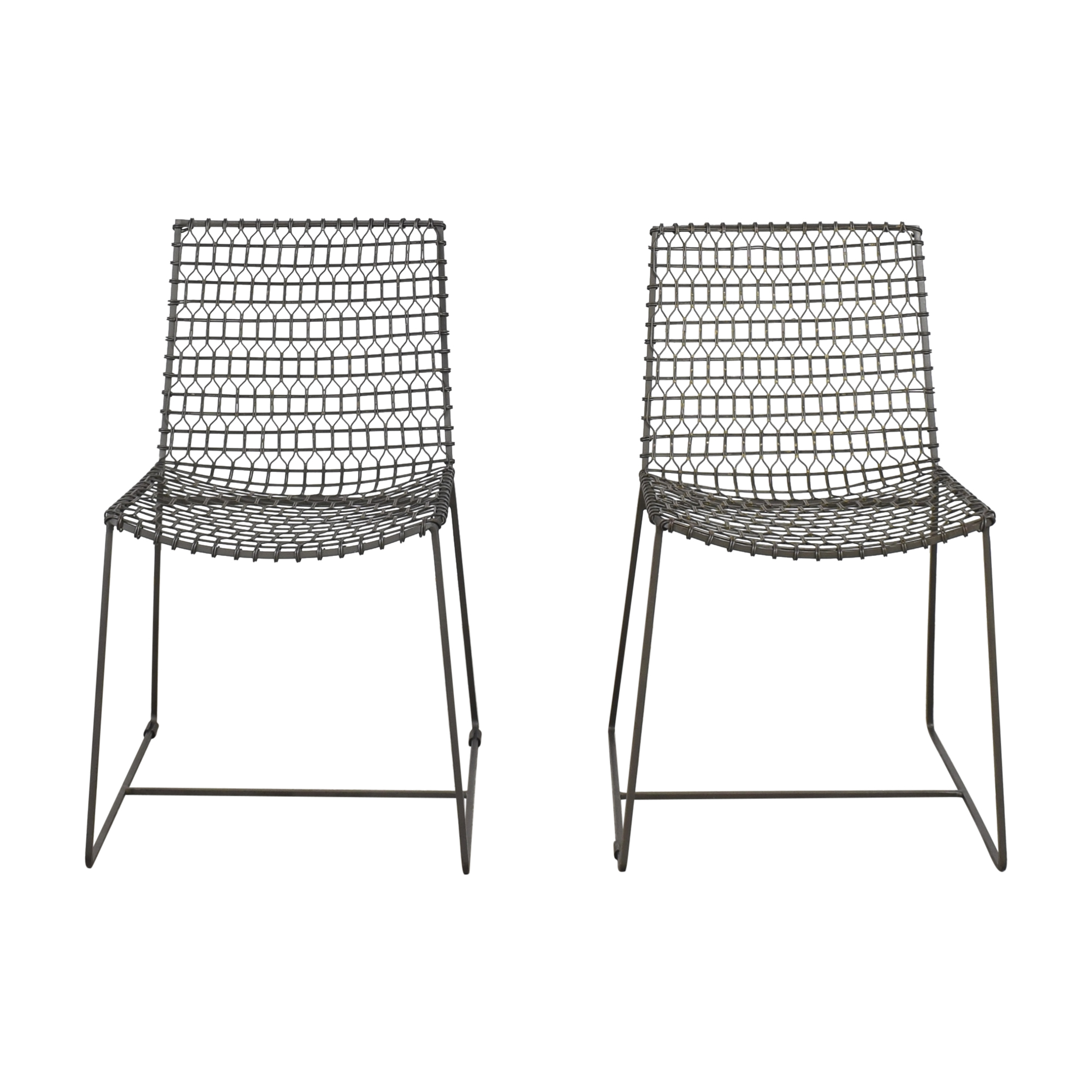 buy Crate & Barrel Tig Dining Chairs Crate & Barrel Chairs