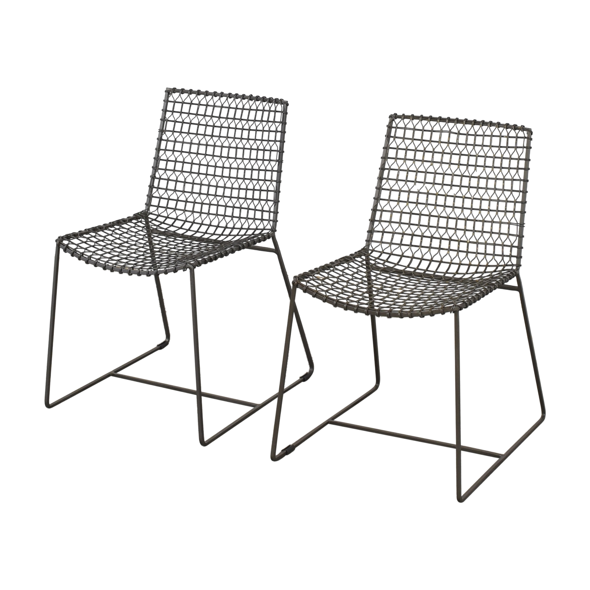 Crate & Barrel Tig Dining Chairs sale