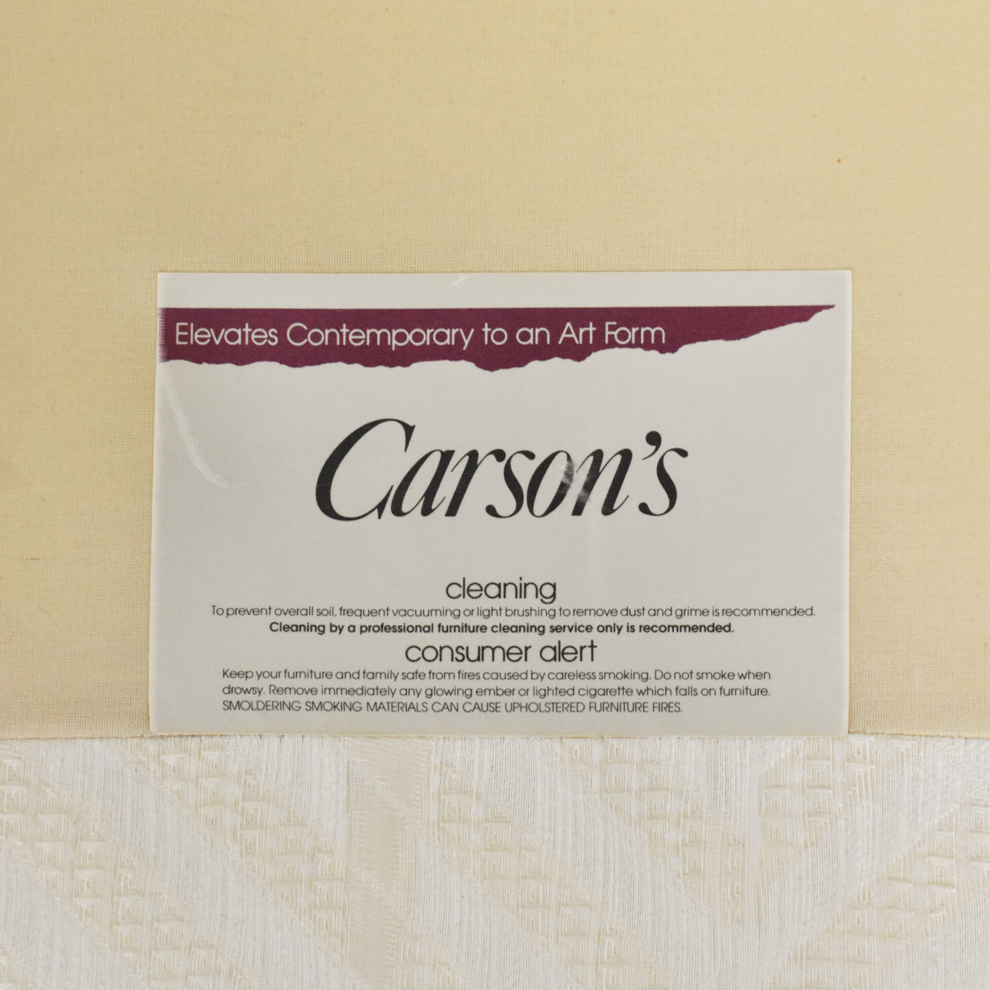 Carson Carson Art Deco Style Sofa pa
