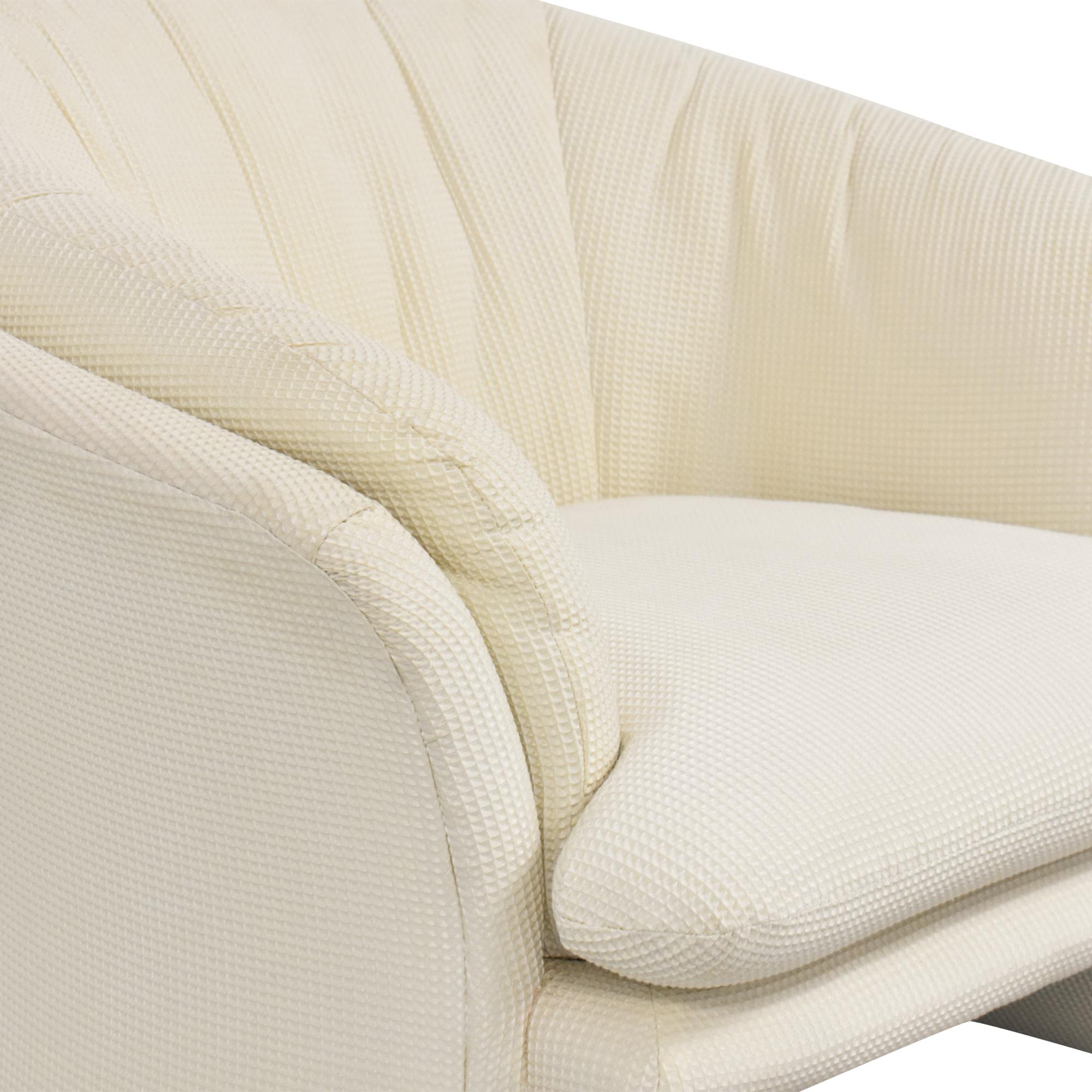 Carson Carson Flared Accent Chair dimensions