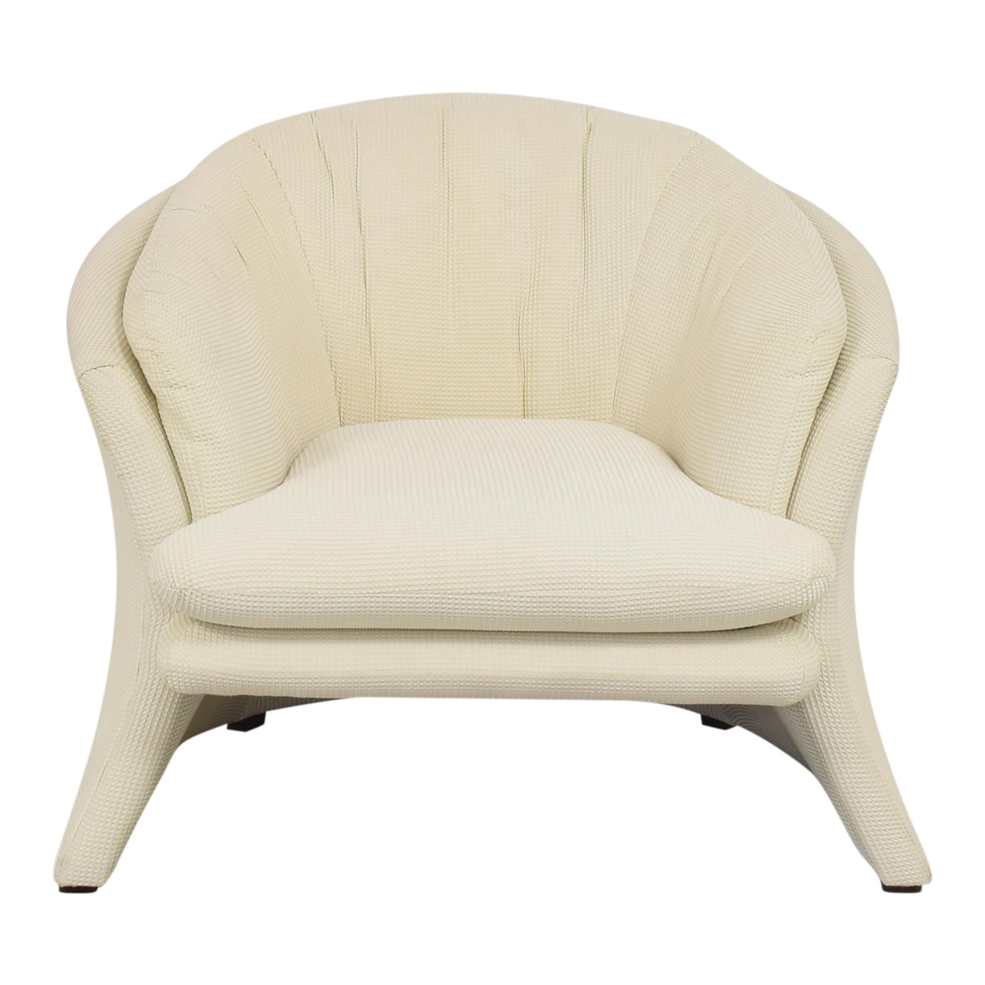 Carson Carson Flared Accent Chair ma