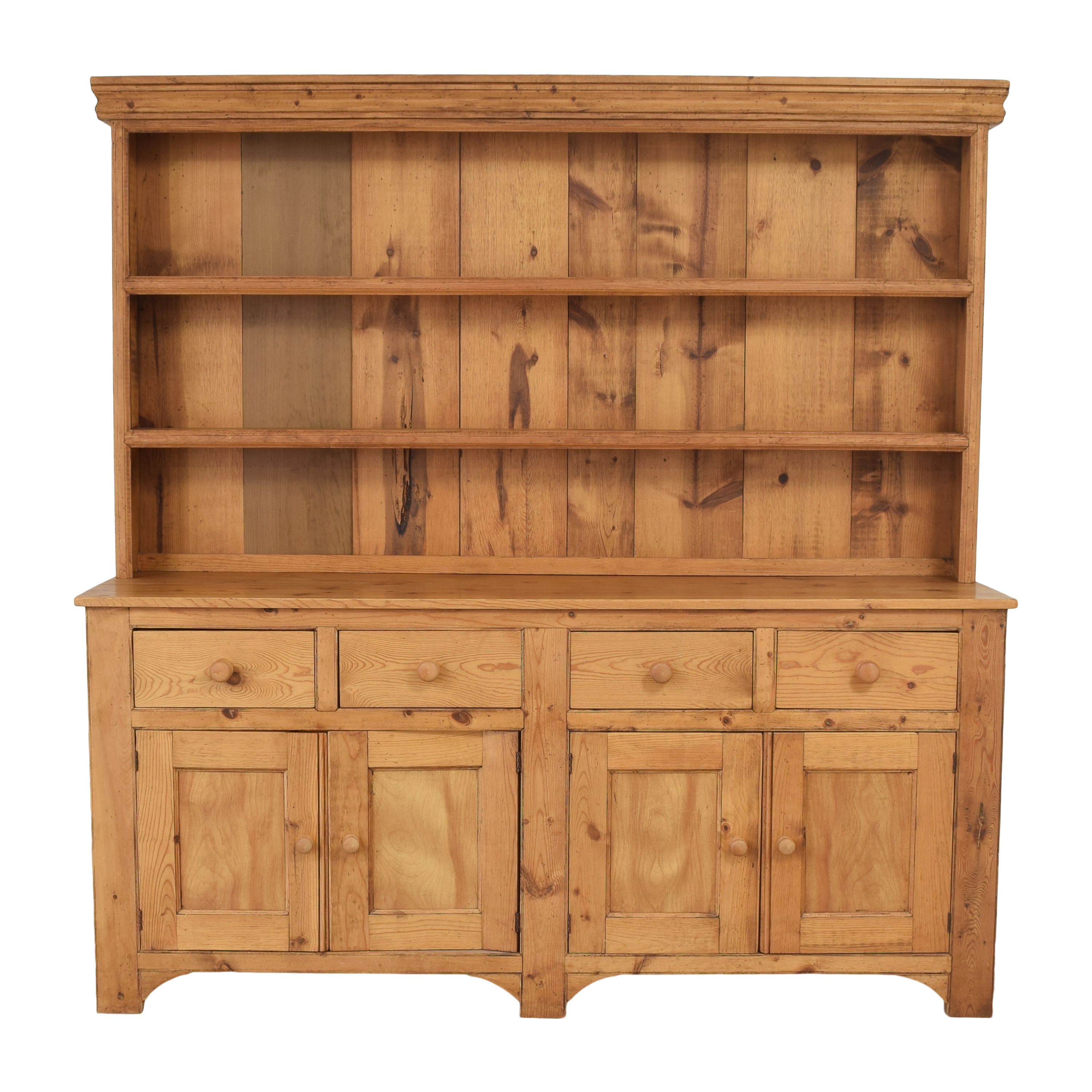 Breakfront with Hutch Cabinets & Sideboards
