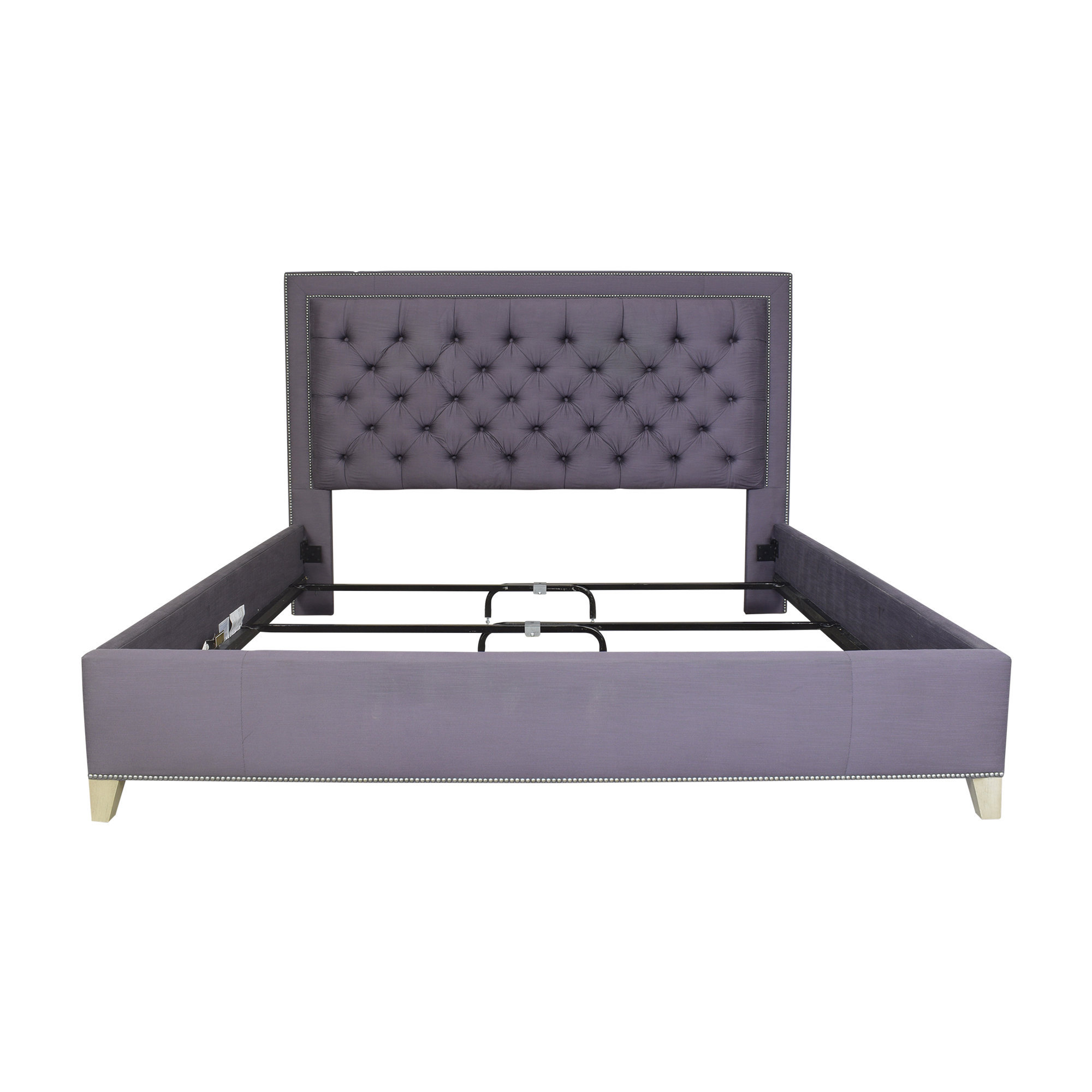 Vanguard Furniture Vanguard Furniture Tufted King Bed dimensions