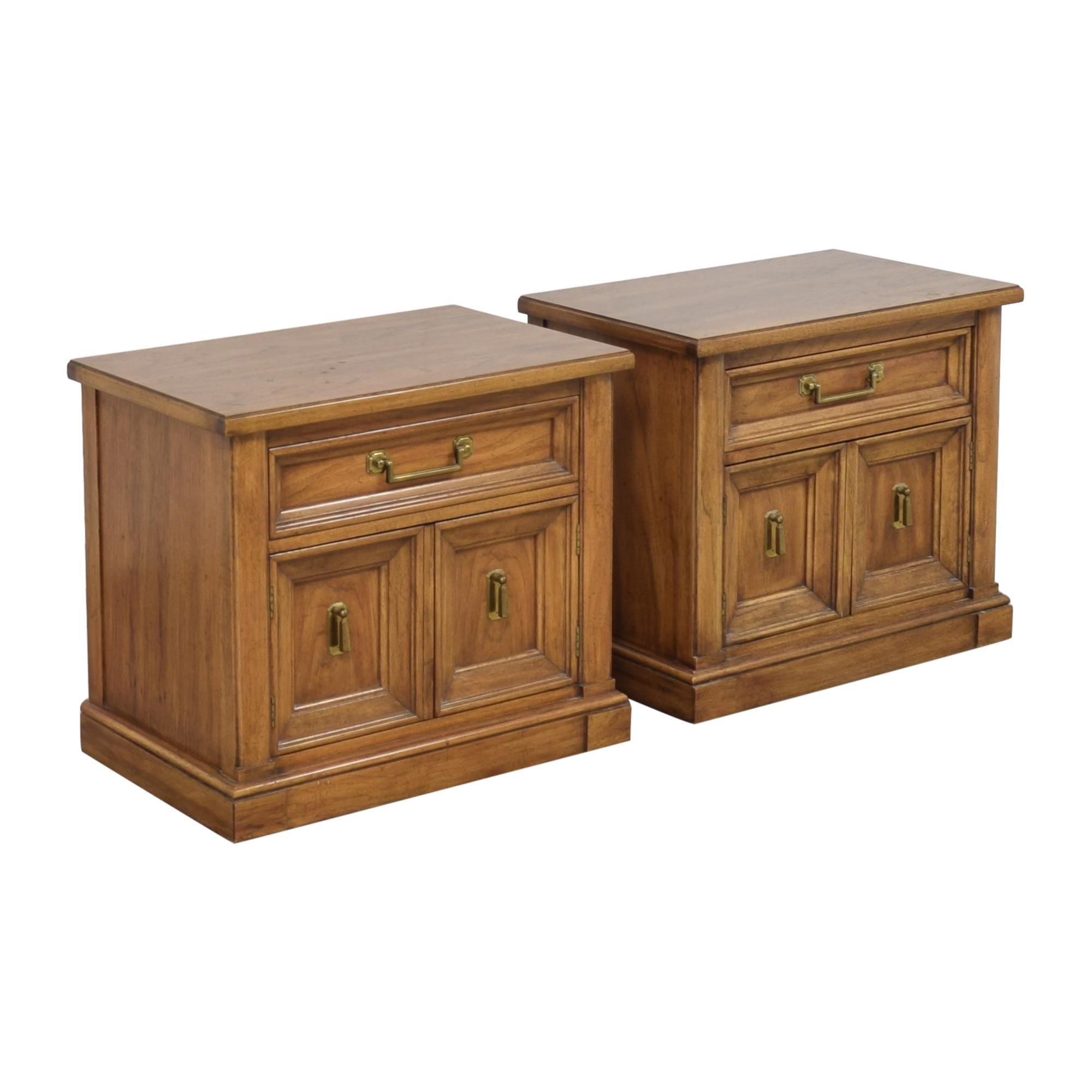 buy Thomasville Two Door Nightstands Thomasville End Tables