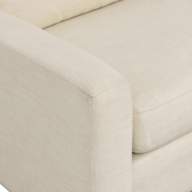 Restoration Hardware Restoration Hardware Track Arm Sofa