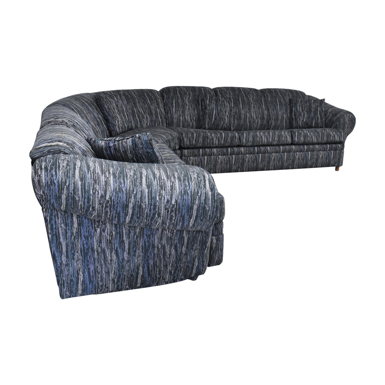 shop Schweiger Industries L Shaped Sectional Sleeper Sofa Schweiger Industries Sectionals