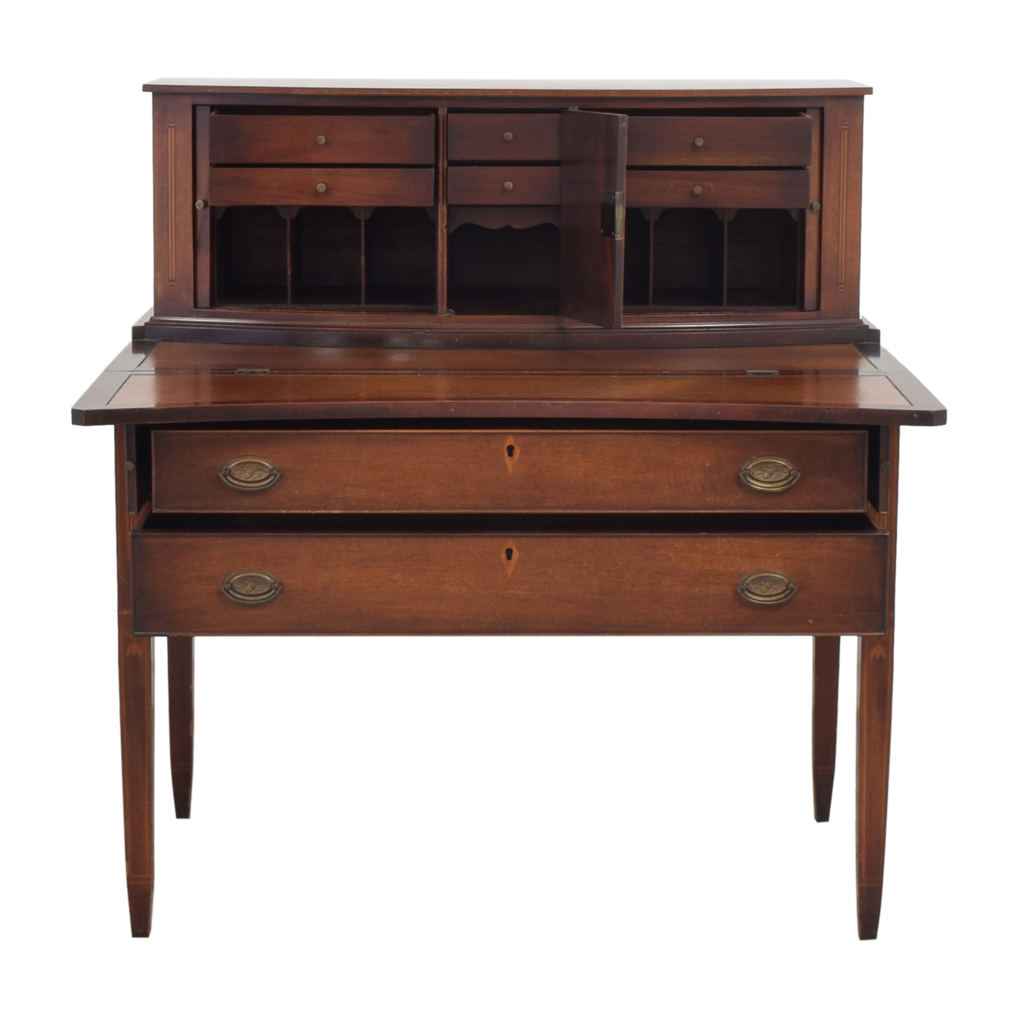 buy Vintage Hepplewhite-Style Secretary Desk  Tables