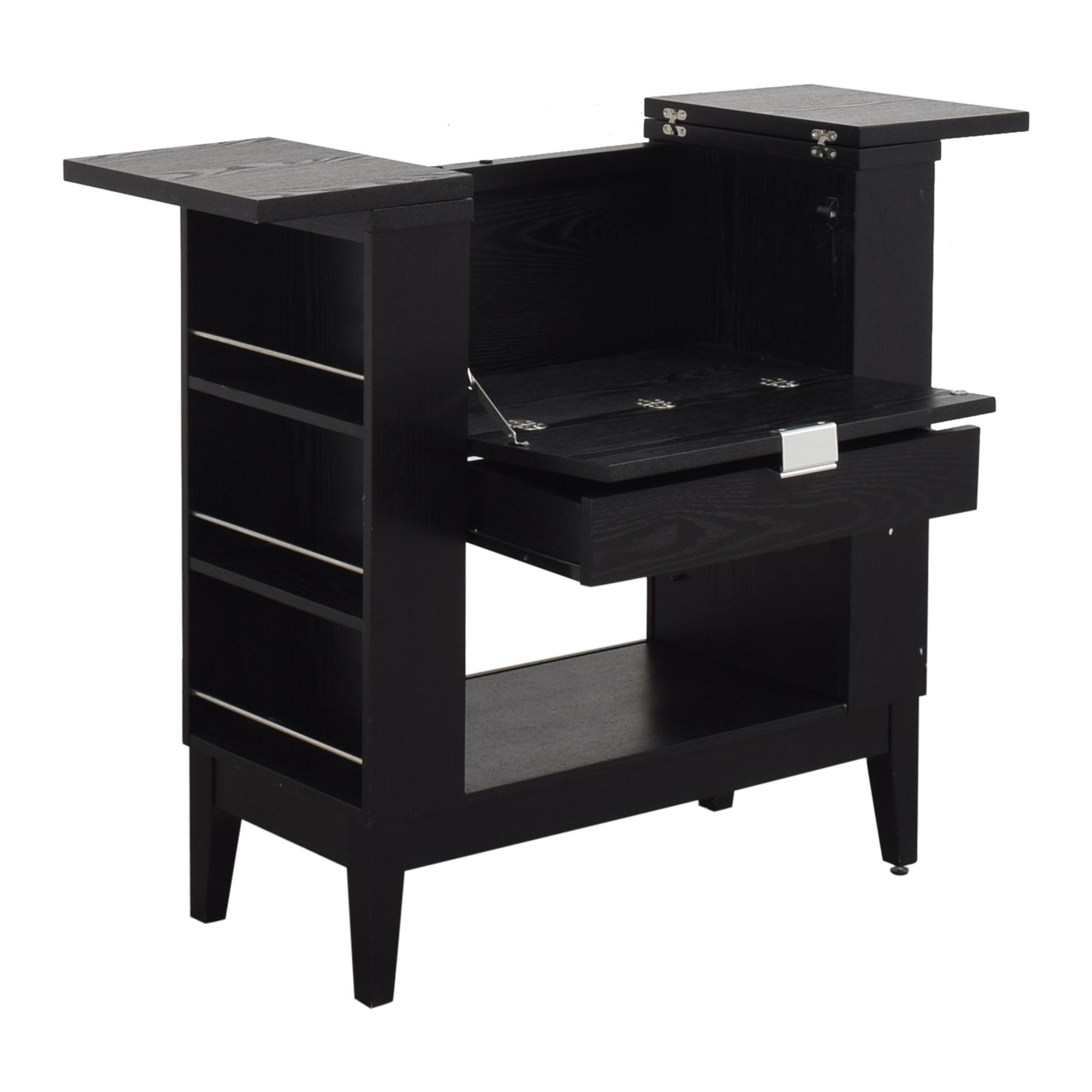 Crate & Barrel Crate & Barrel Parker Spirits Bar Cabinet Cabinets & Sideboards