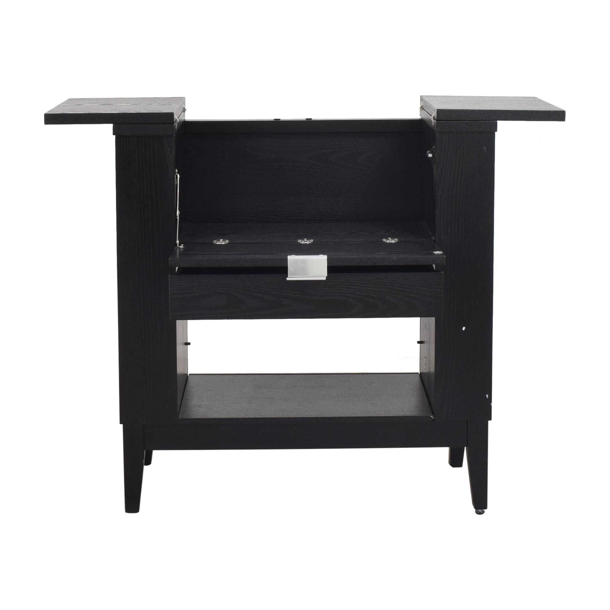 Crate & Barrel Parker Spirits Bar Cabinet sale