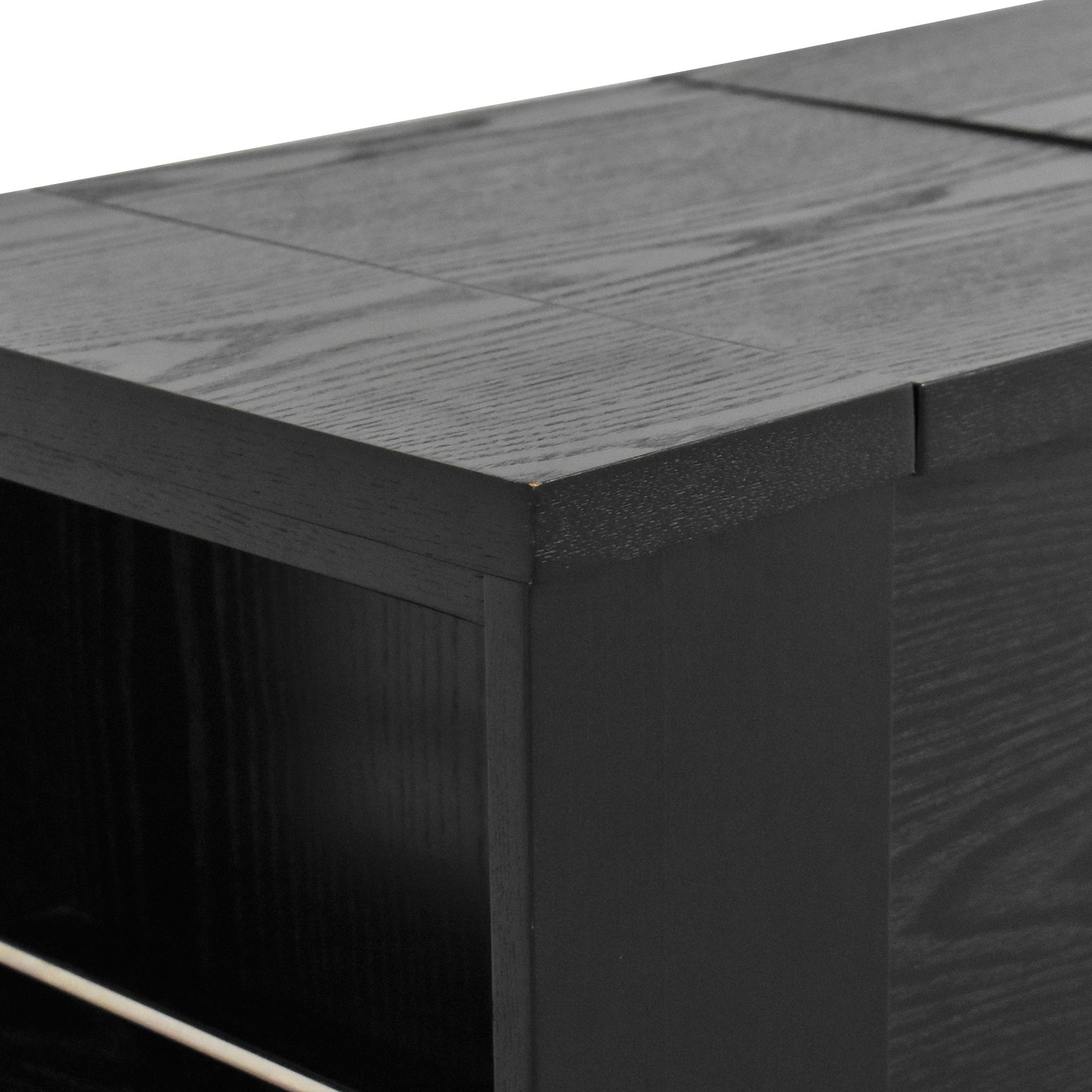 buy Crate & Barrel Parker Spirits Bar Cabinet Crate & Barrel