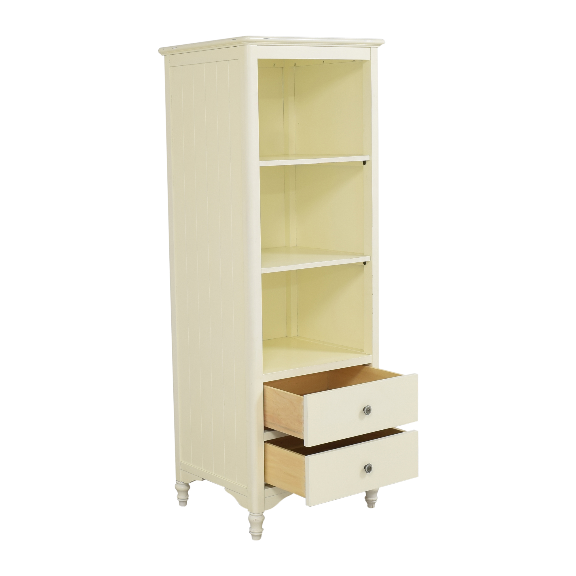 Two Drawer Bookcase Storage