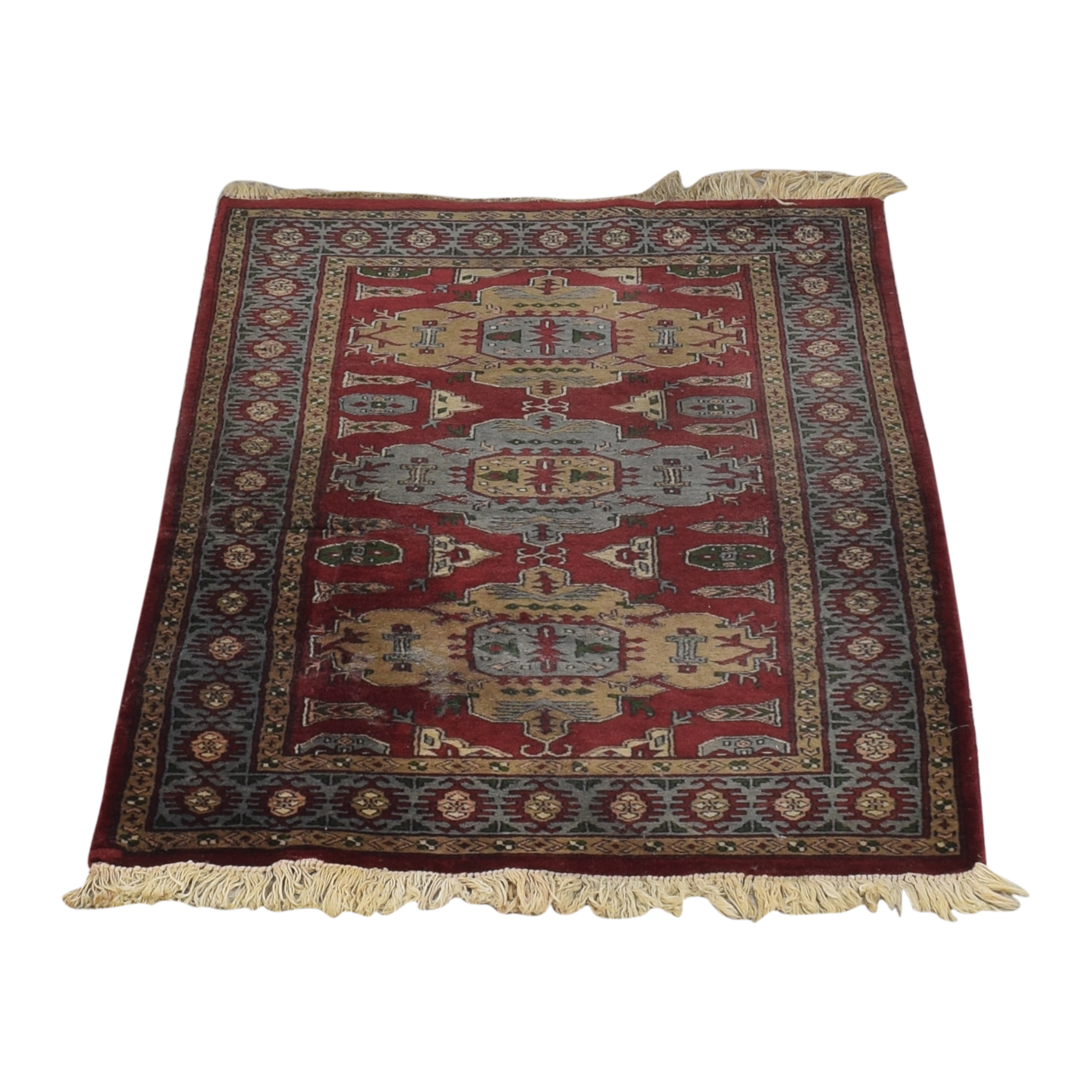 Vintage Persian Rug ct