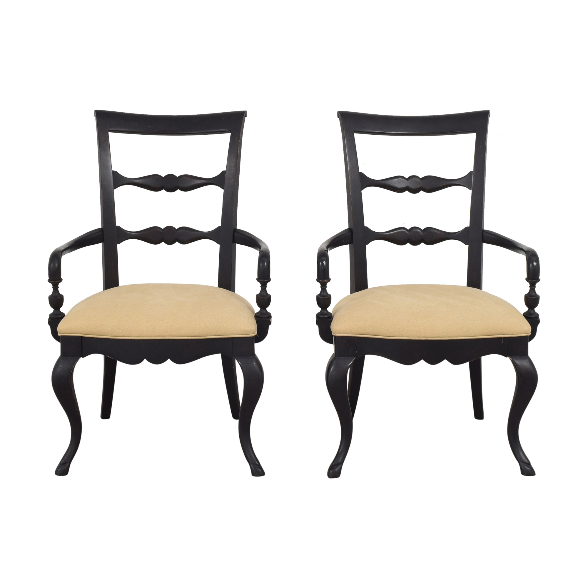 Thomasville Thomasville Vintage Chateau Dining Arm Chairs price