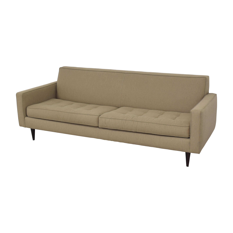 Room & Board Room & Board Reese Two Cushion Sofa nj