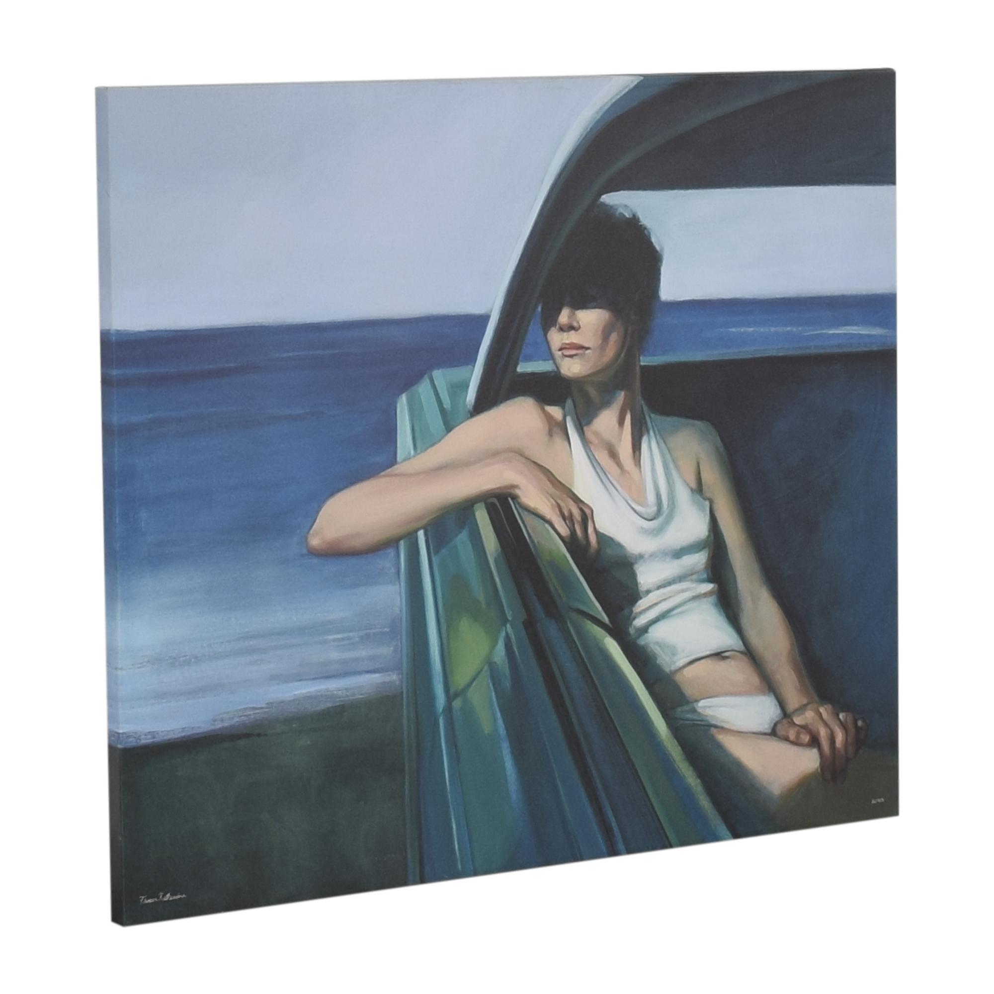 Katherine Fraser Parked Print Wall Art nj