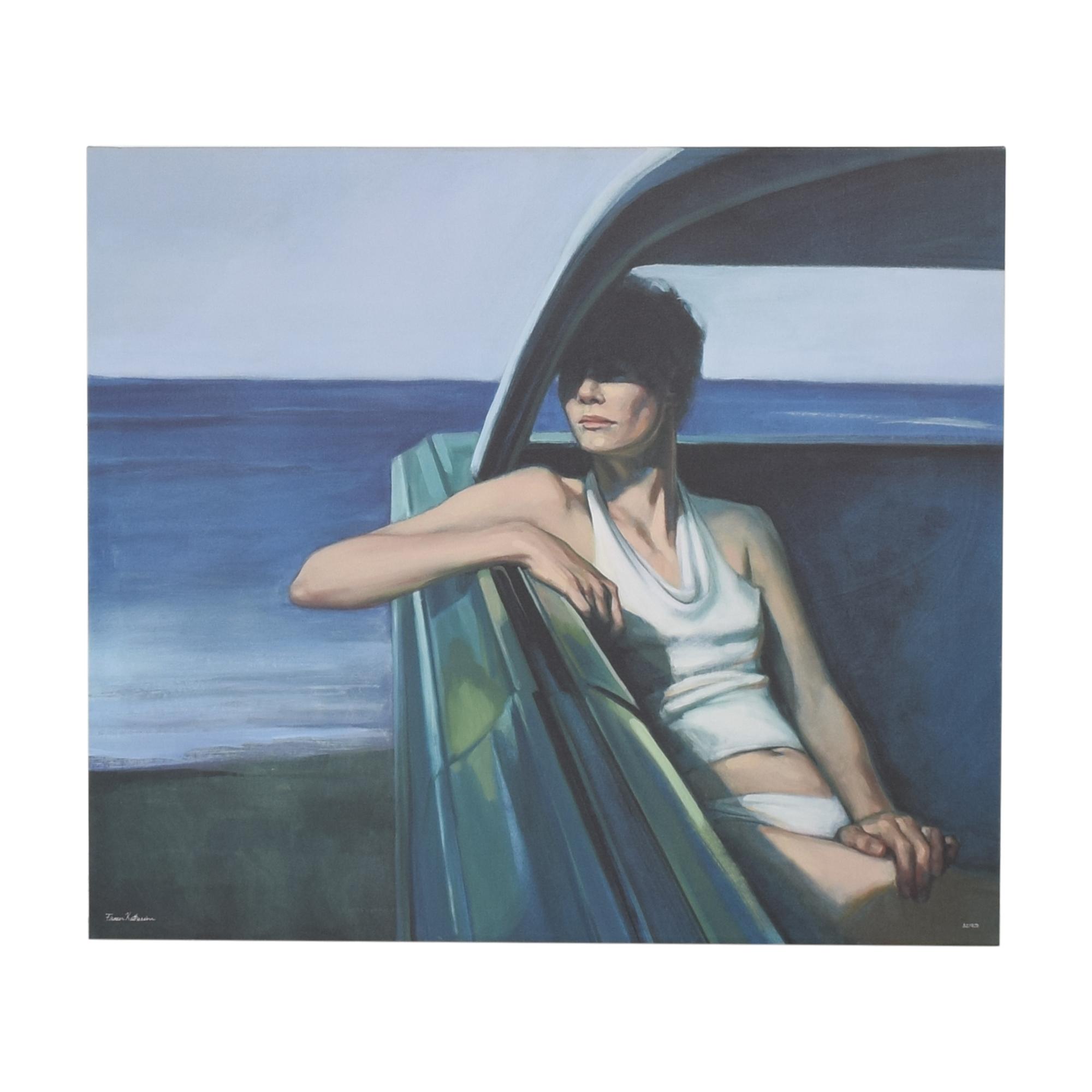 shop  Katherine Fraser Parked Print Wall Art online