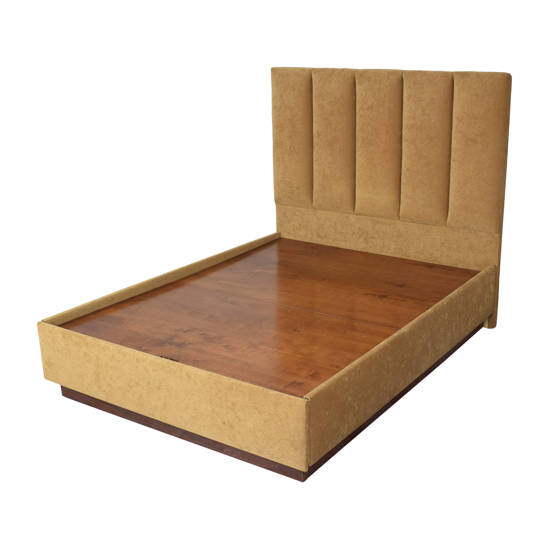Greenbaum Interiors Queen Platform Bed / Bed Frames