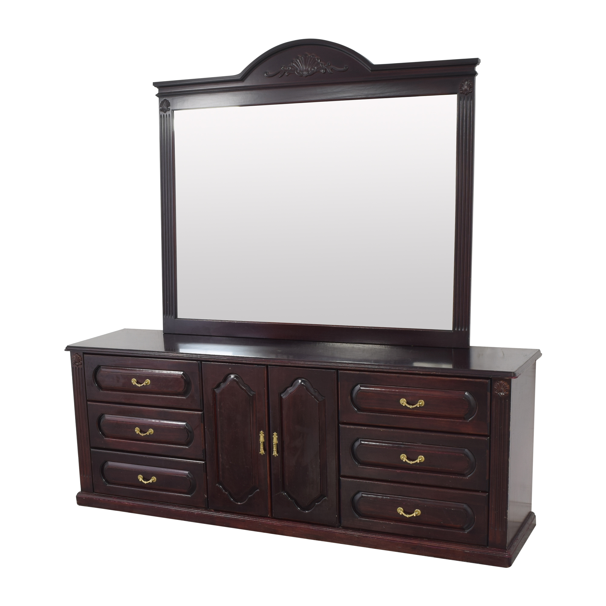 Triple Dresser with Mirror nyc