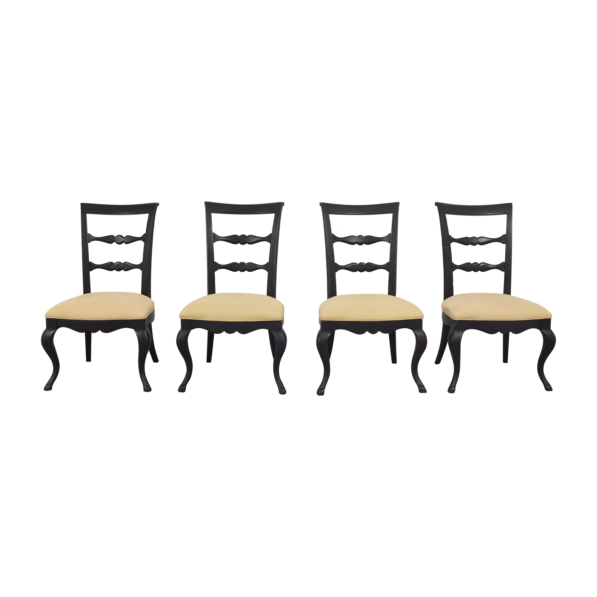 shop Thomasville Vintage Chateau Dining Side Chairs Thomasville