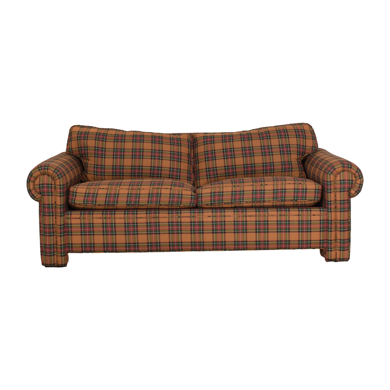 Avery Boardman Avery Boardman Plaid Sleeper Sofa used