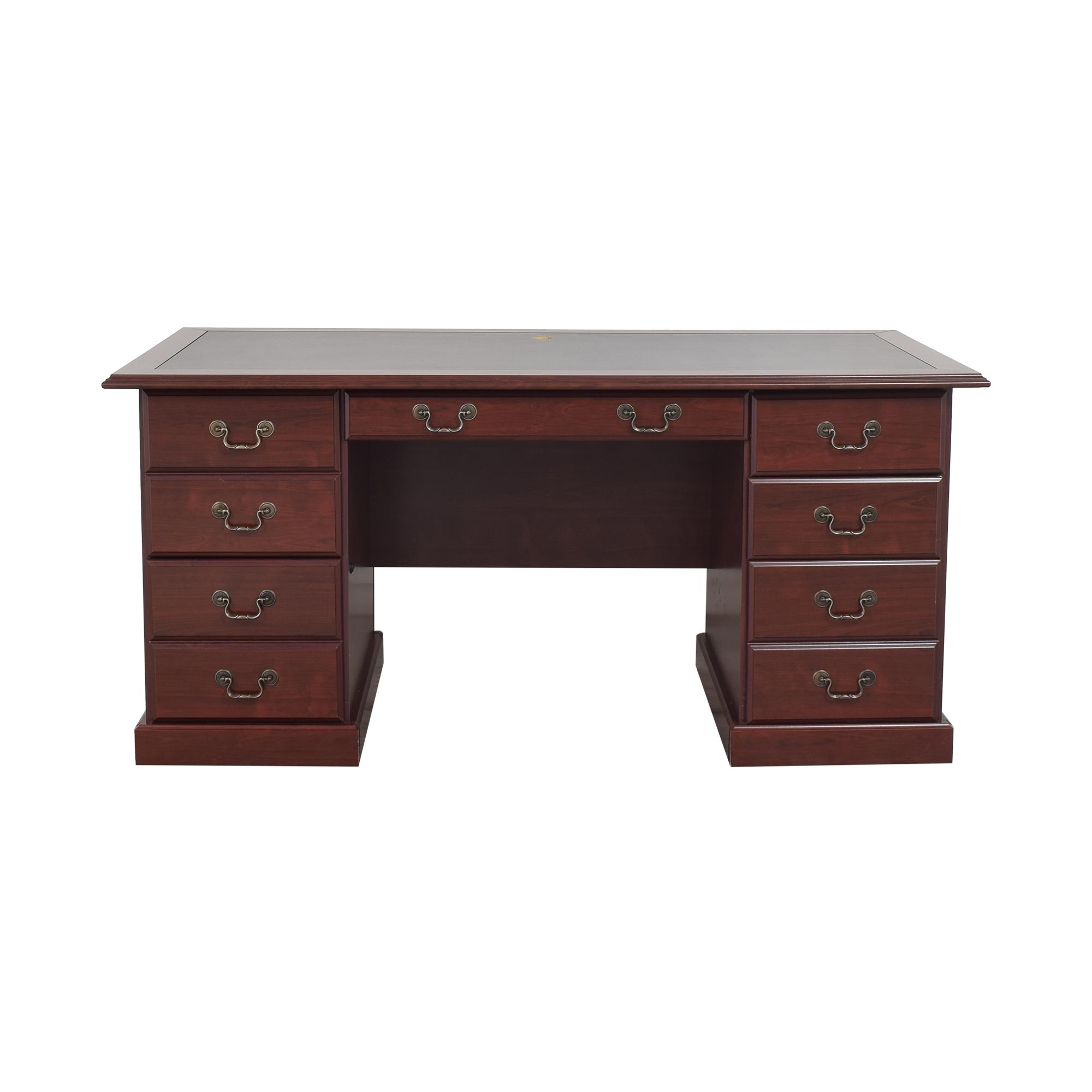 buy Sauder Heritage Hill Executive Desk Sauder Tables