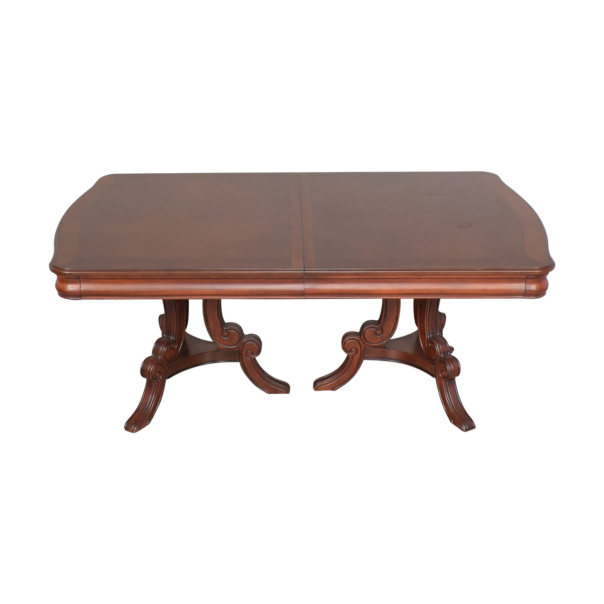Raymour & Flanigan Extendable Dining Table sale