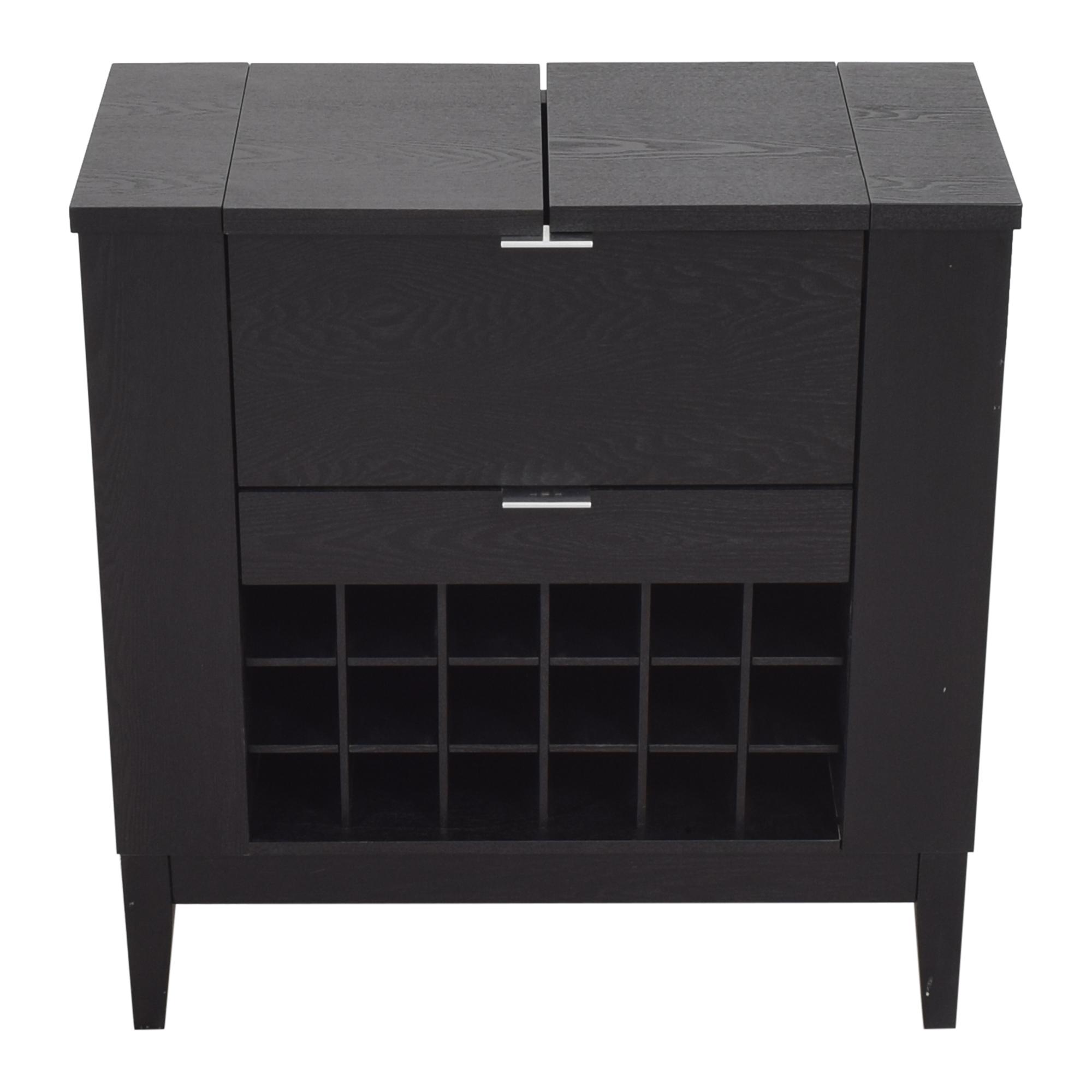 buy Crate & Barrel Parker Spirits Bourbon Cabinet Crate & Barrel Cabinets & Sideboards