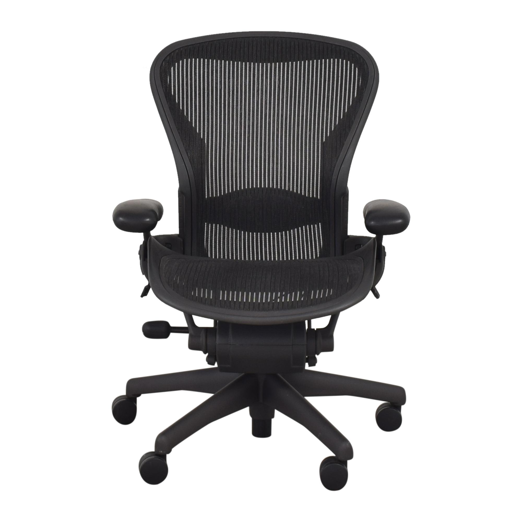 Herman Miller Herman Miller Aeron Size B Swivel Desk Chair nyc