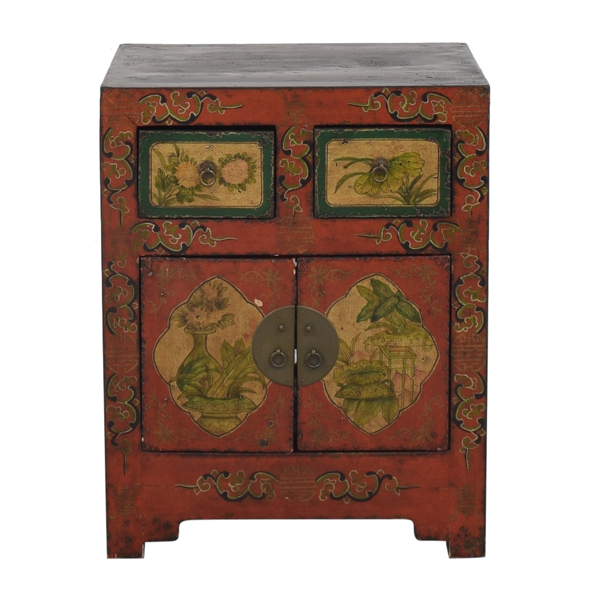 Chinoiserie Accent Cabinet second hand