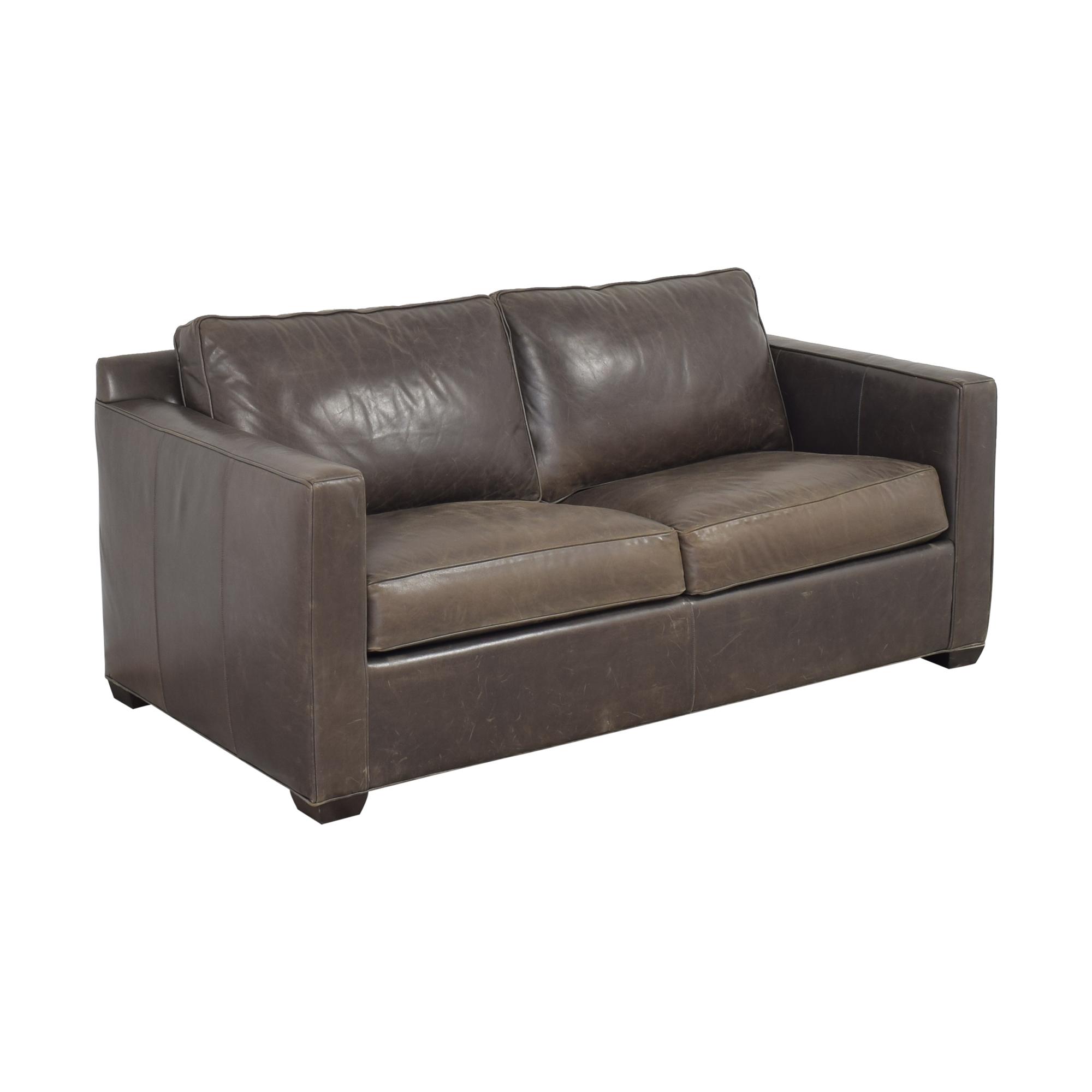 Crate & Barrel Crate & Barrel Barrett Queen Sleeper Sofa Sofa Beds