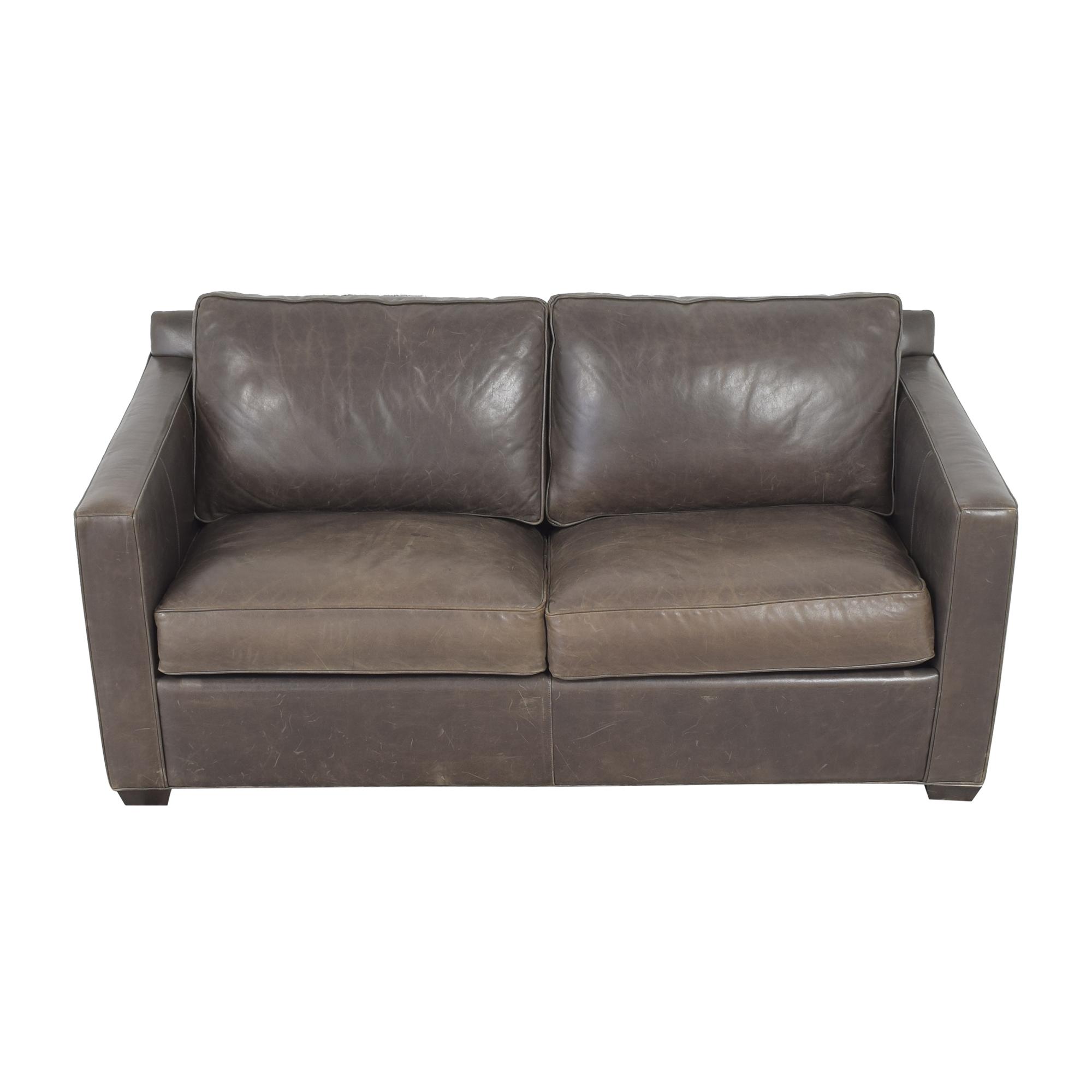 buy Crate & Barrel Barrett Queen Sleeper Sofa Crate & Barrel