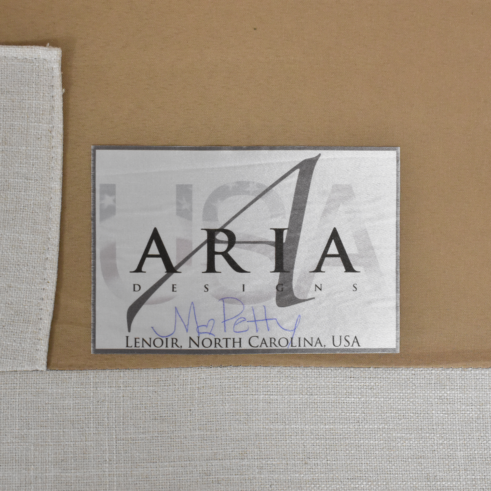 Aria Designs Aria Designs Two Cushion Sofa Sofas
