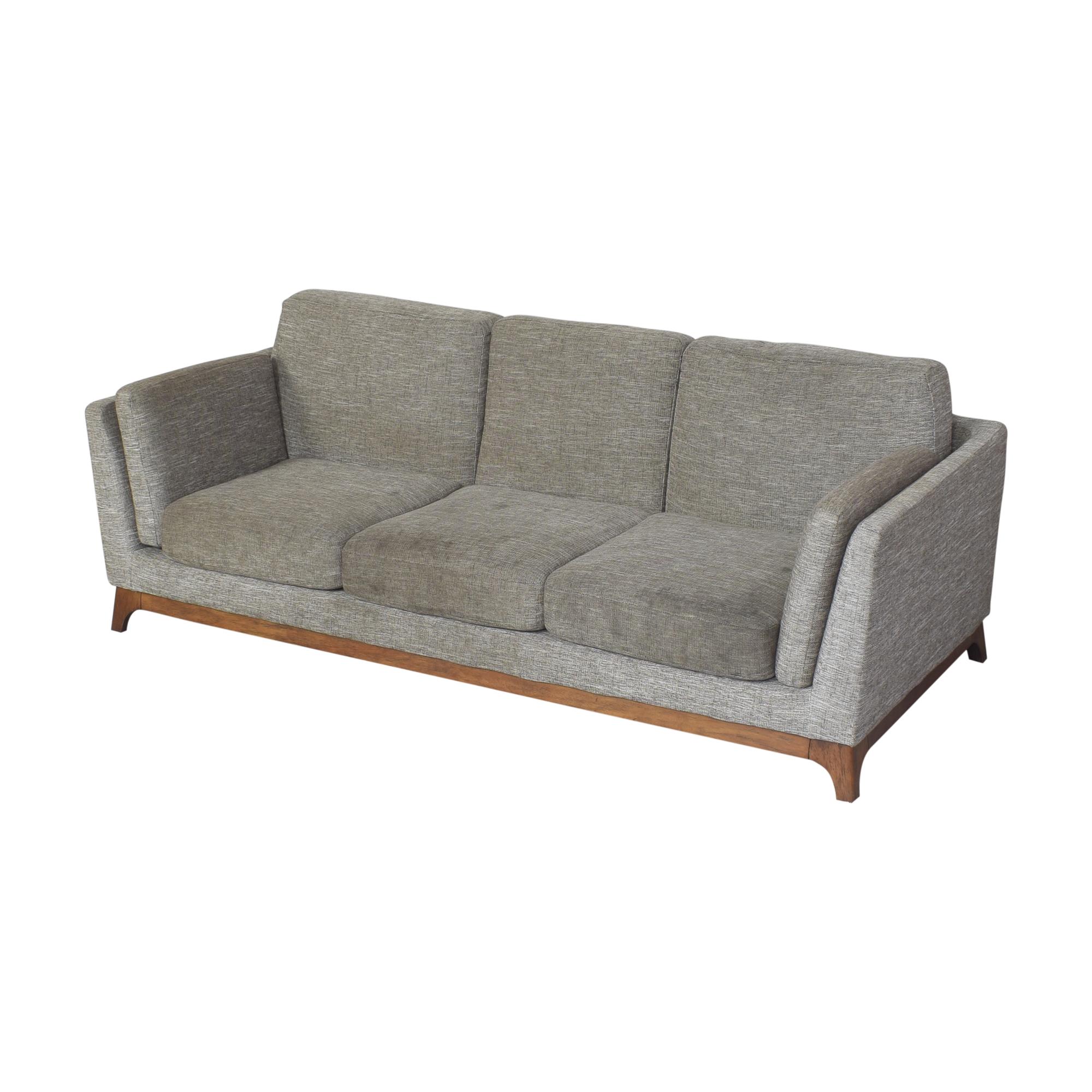 Article Article Ceni Three Cushion Sofa dimensions