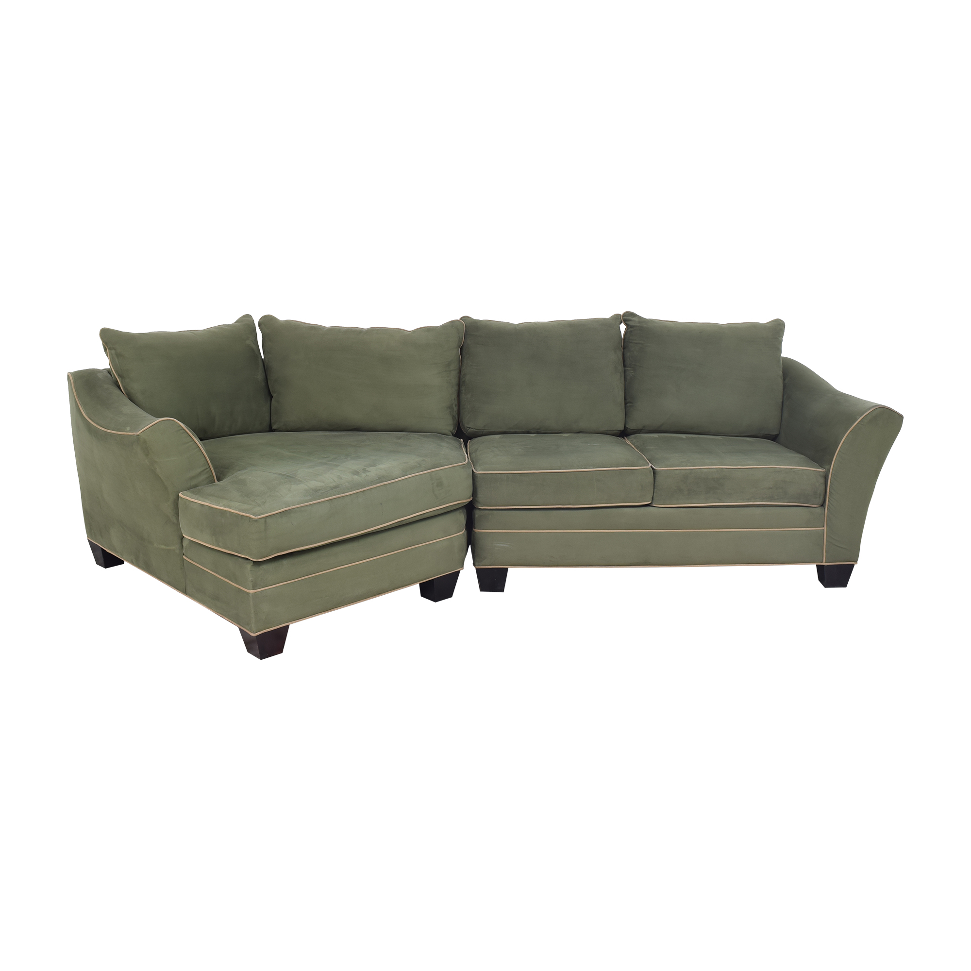 Raymour & Flanigan Raymour & Flanigan Foresthill Two-Piece Sectional Sofa nj