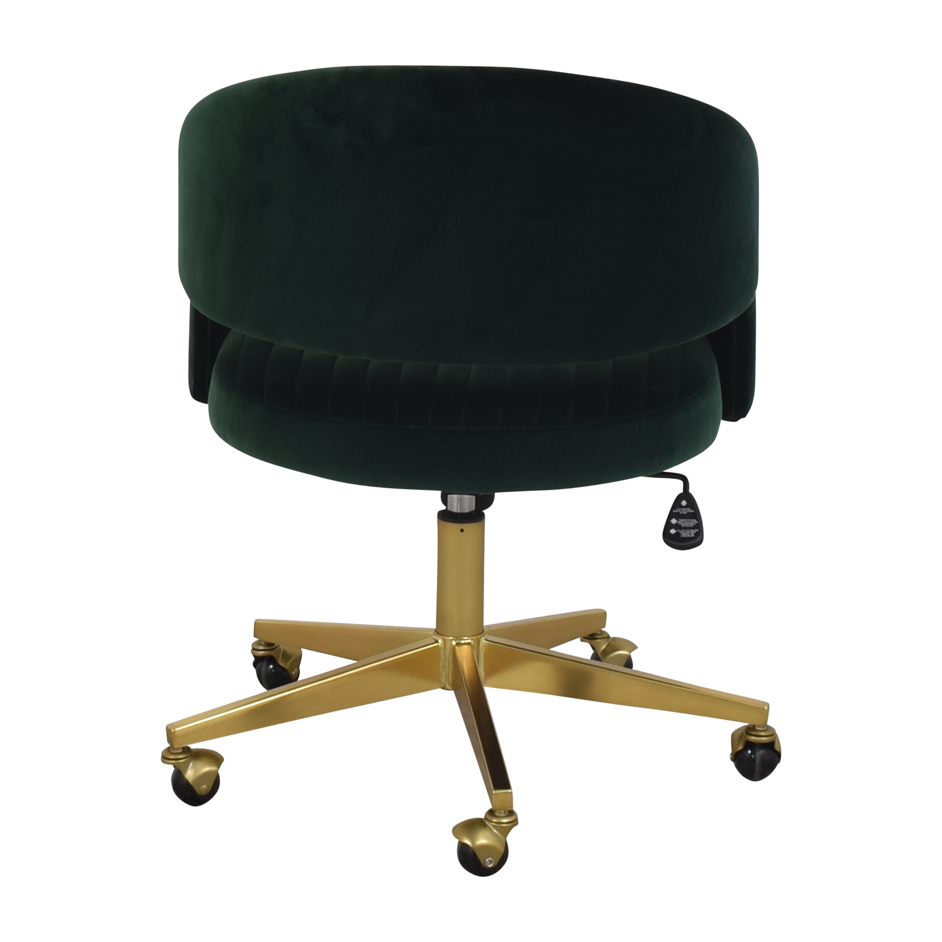 CB2 CB2 Channel Office Chair for sale
