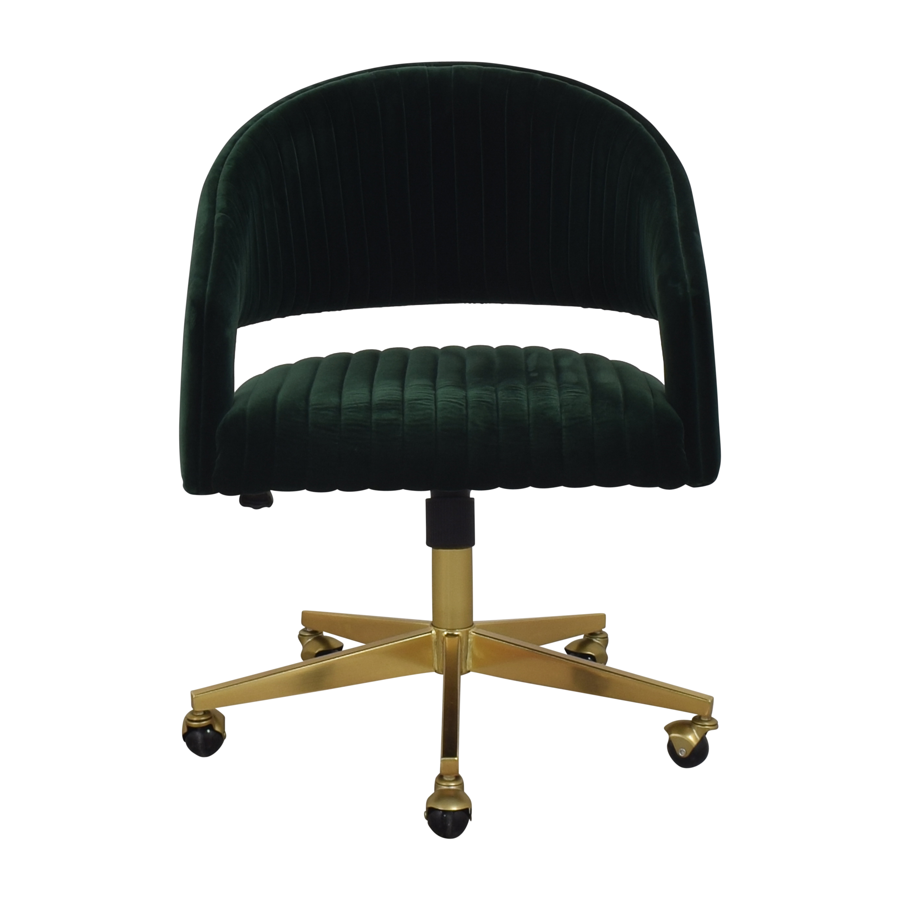 CB2 CB2 Channel Office Chair on sale