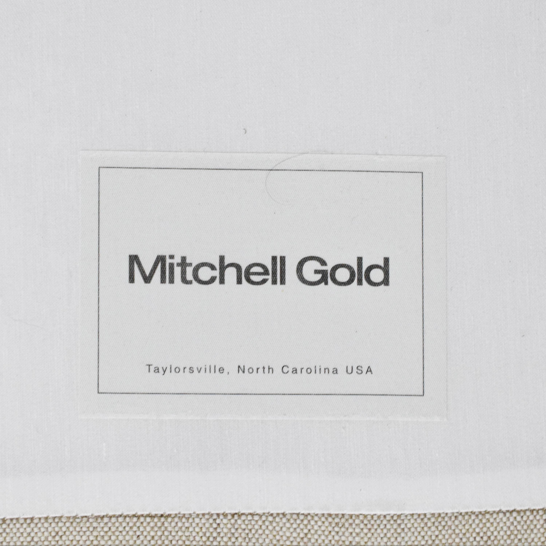 buy Mitchell Gold + Bob Williams Mitchell Gold Tufted Queen Platform Bed online