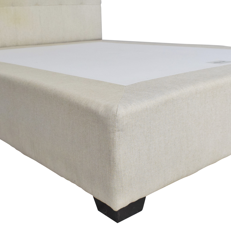 Mitchell Gold + Bob Williams Mitchell Gold Tufted Queen Platform Bed discount