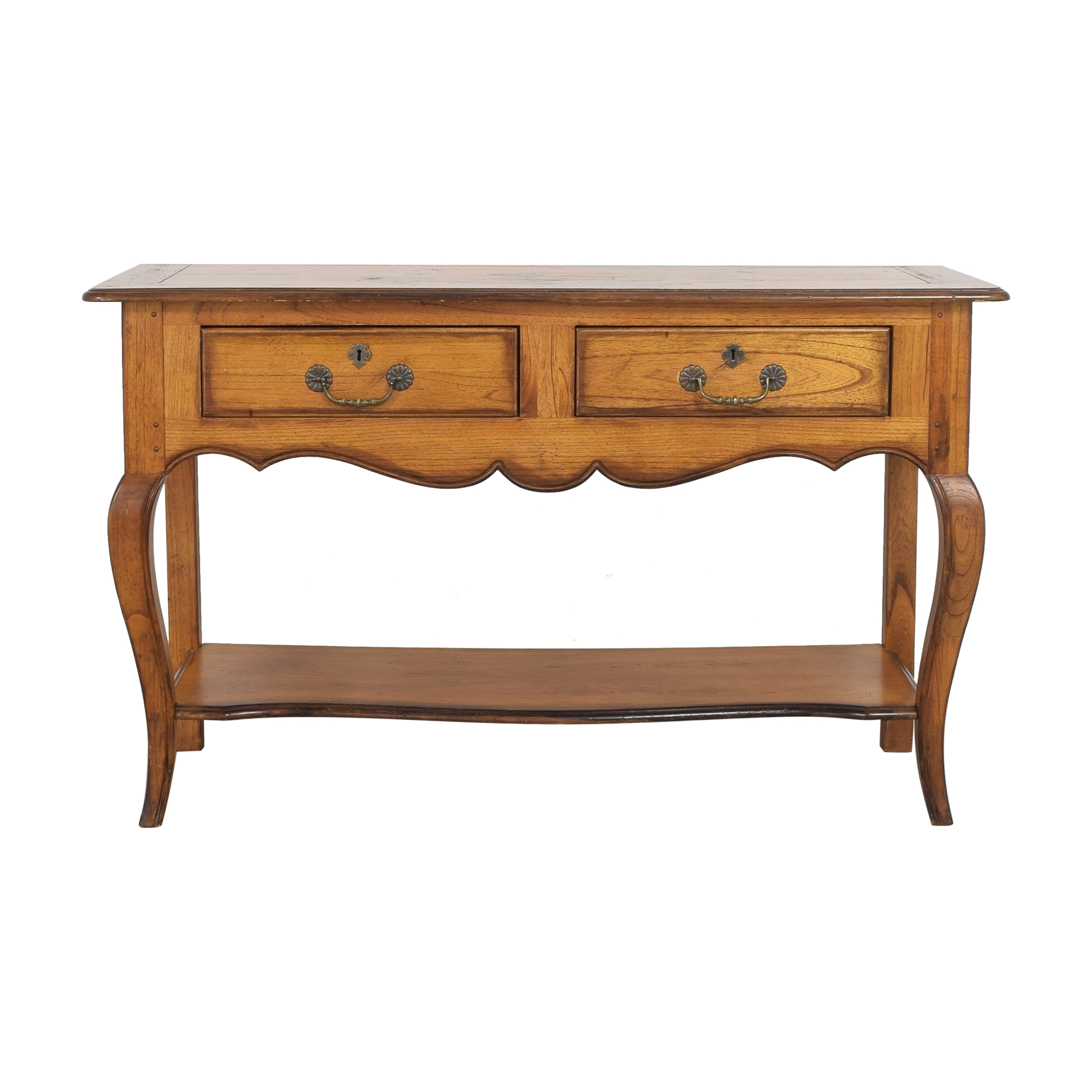 shop Hekman Two Drawer Console Hekman Furniture