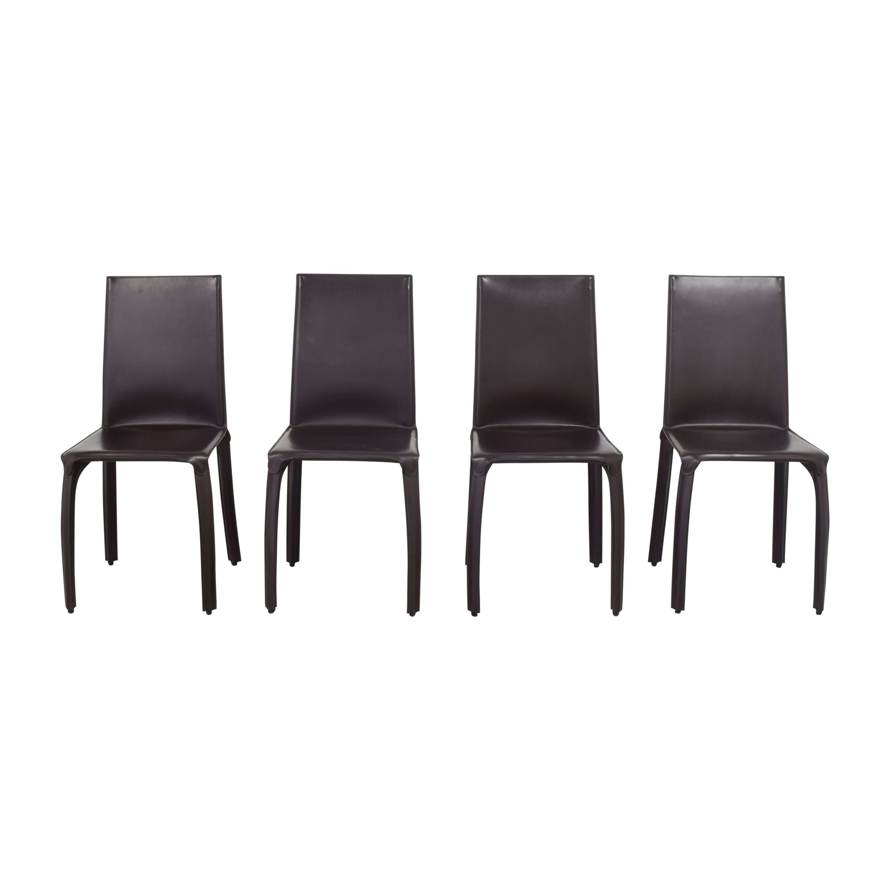 Crate & Barrel Folio Dining Chairs by Maria Yee / Chairs