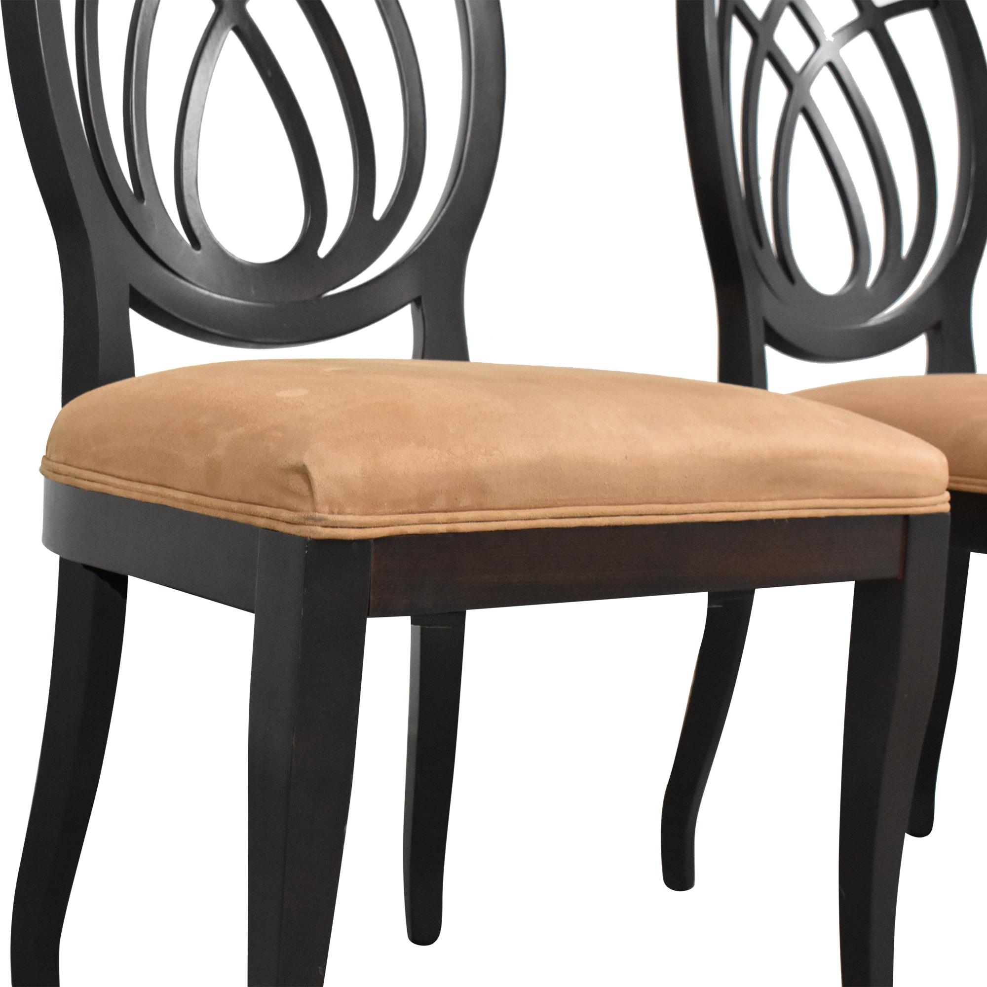 Bombay Company Bombay Company Oval Back Dining Side Chairs
