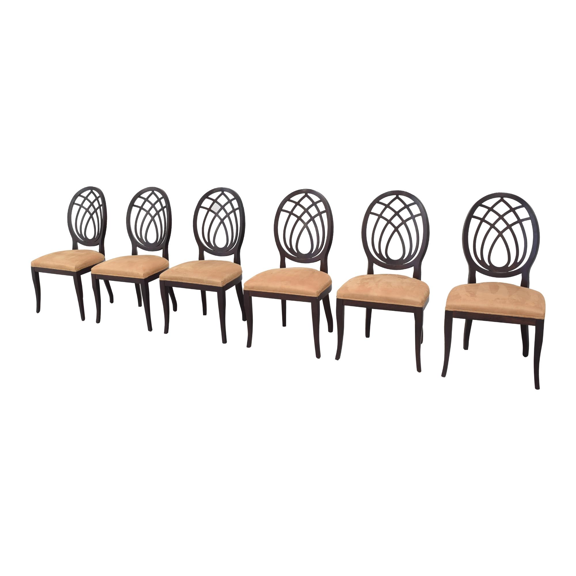 buy Bombay Company Oval Back Dining Side Chairs Bombay Company Dining Chairs