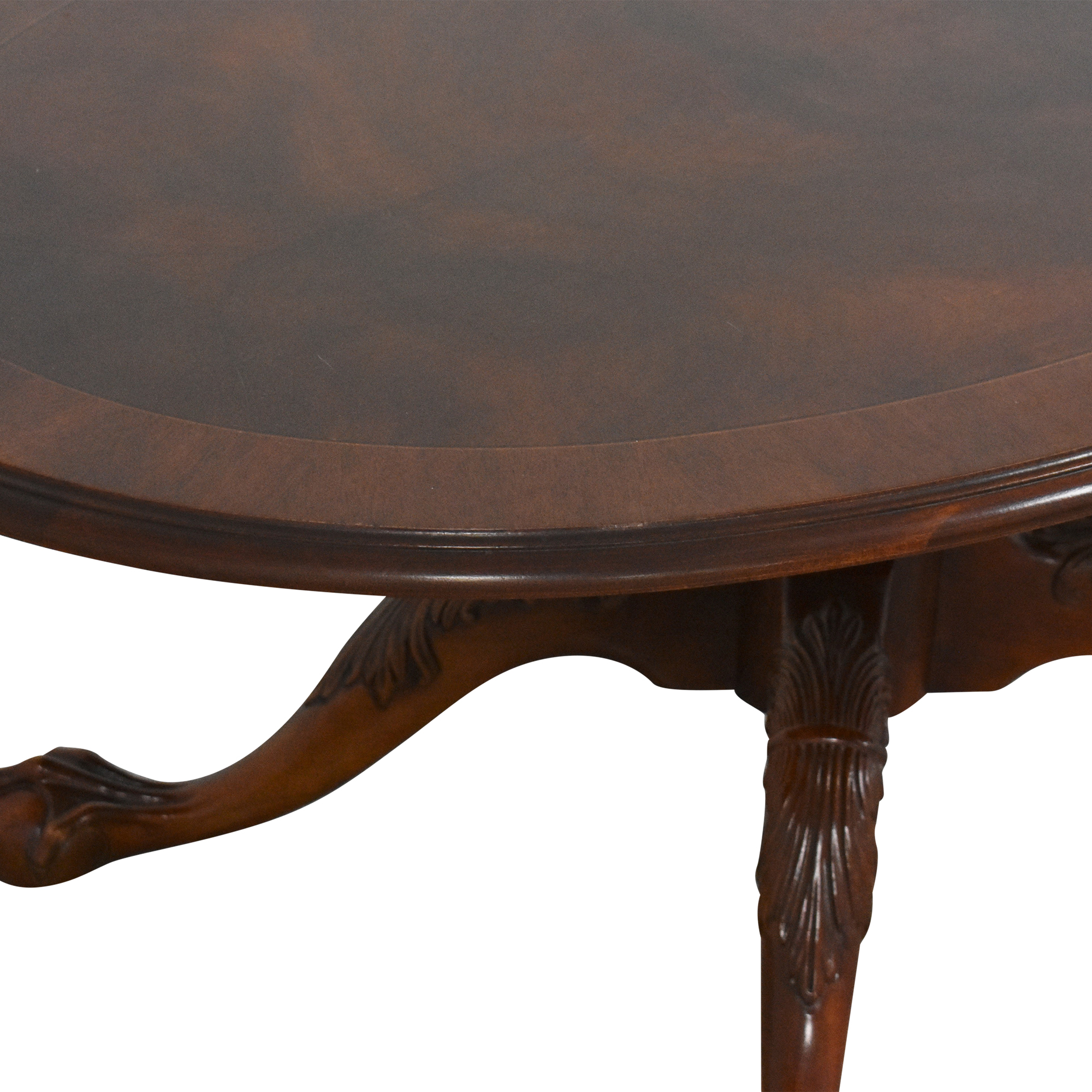 Ethan Allen 18th Century Collection Oval Coffee Table / Coffee Tables