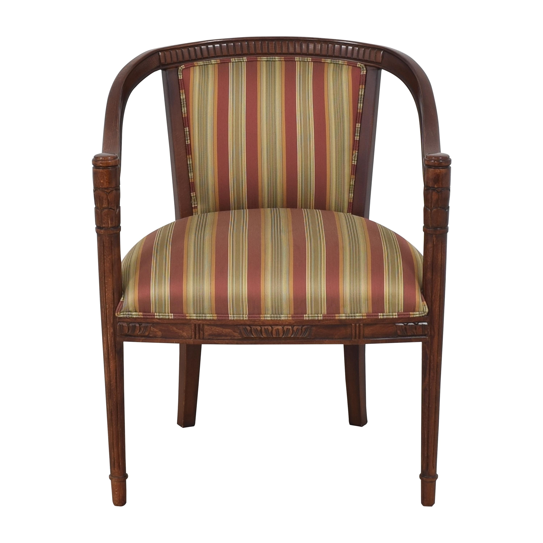 Ethan Allen Ethan Allen Striped Accent Chair nj