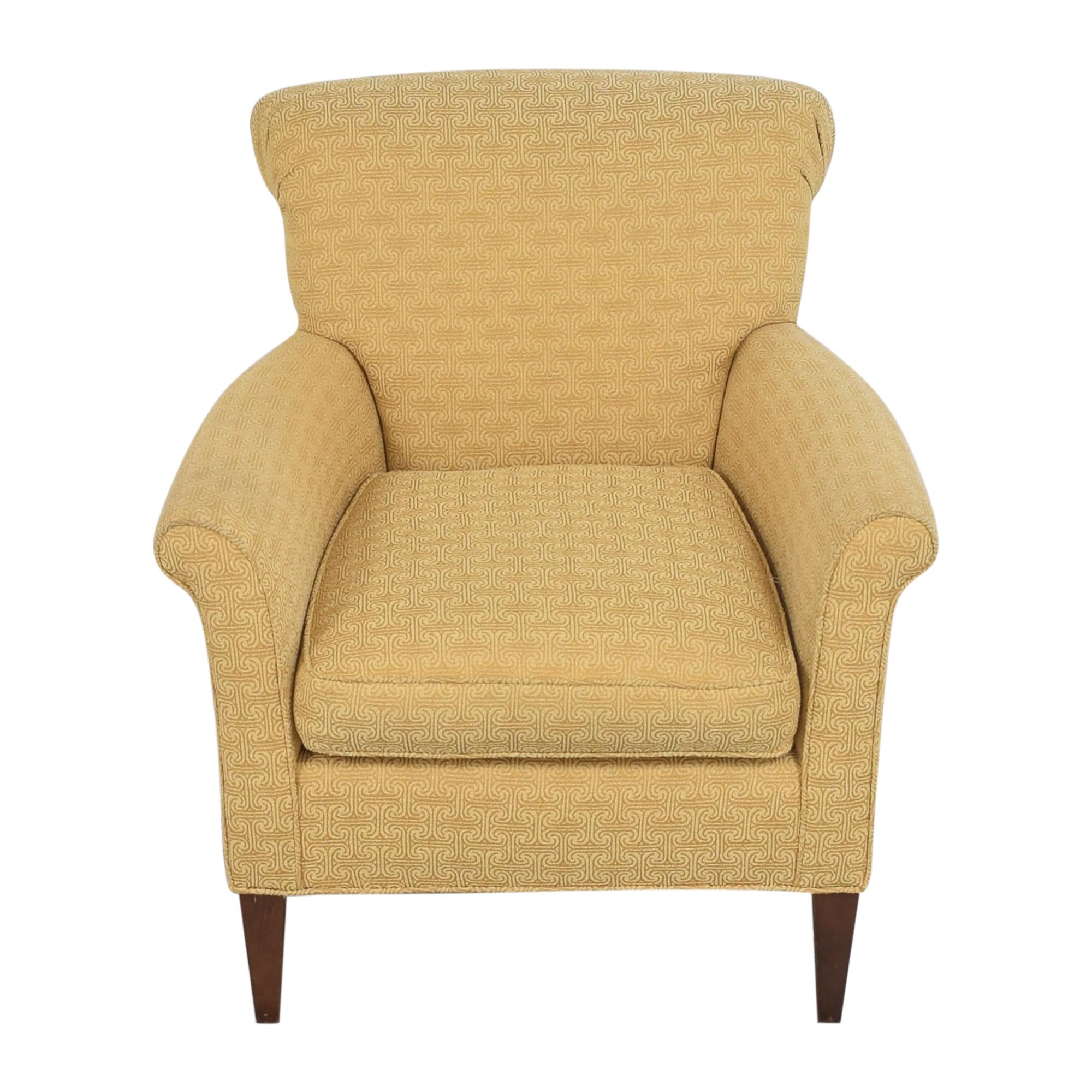 Ethan Allen Ethan Allen Scroll Back Accent Chair discount