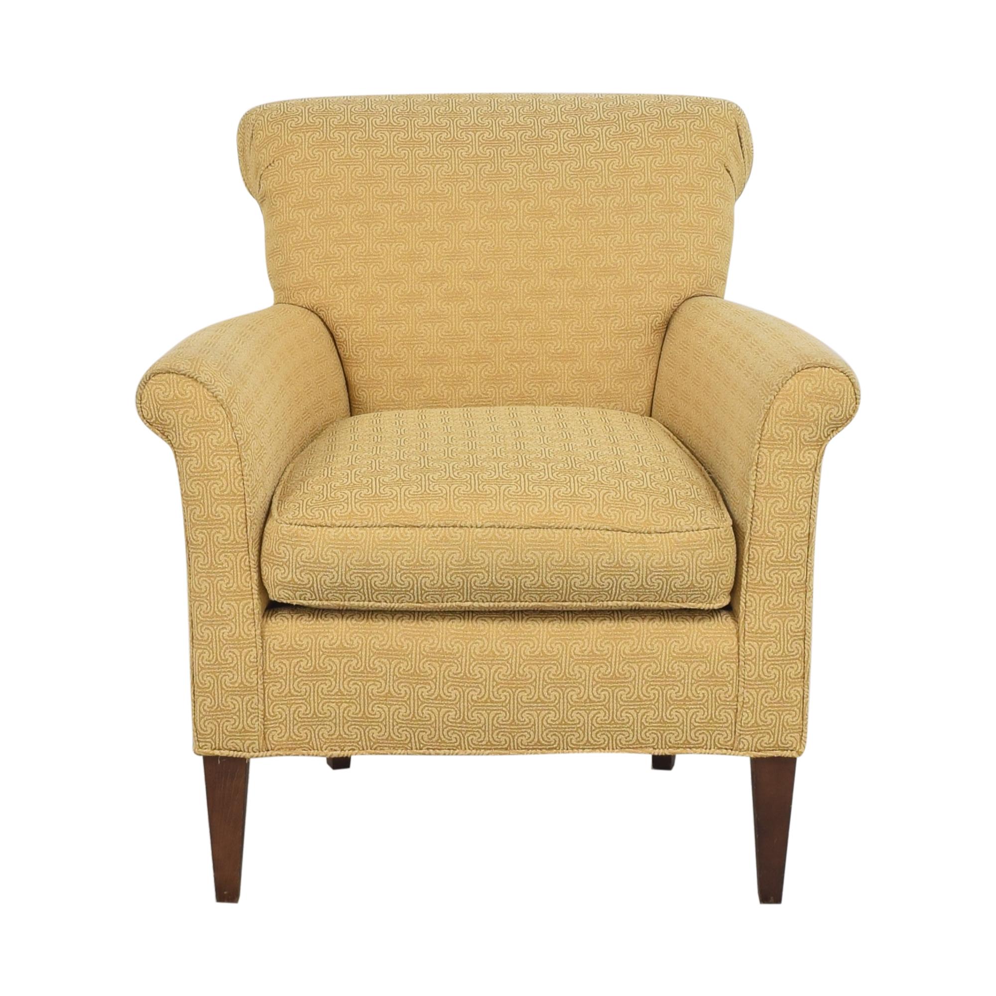 Ethan Allen Ethan Allen Scroll Back Accent Chair Chairs