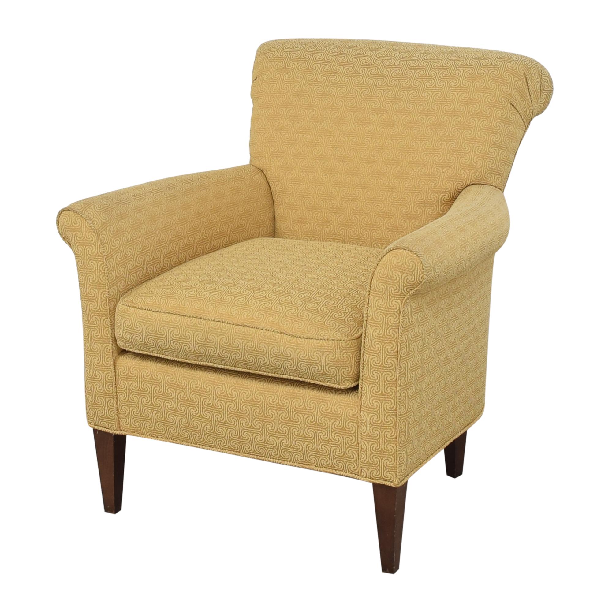 shop Ethan Allen Scroll Back Accent Chair Ethan Allen Chairs